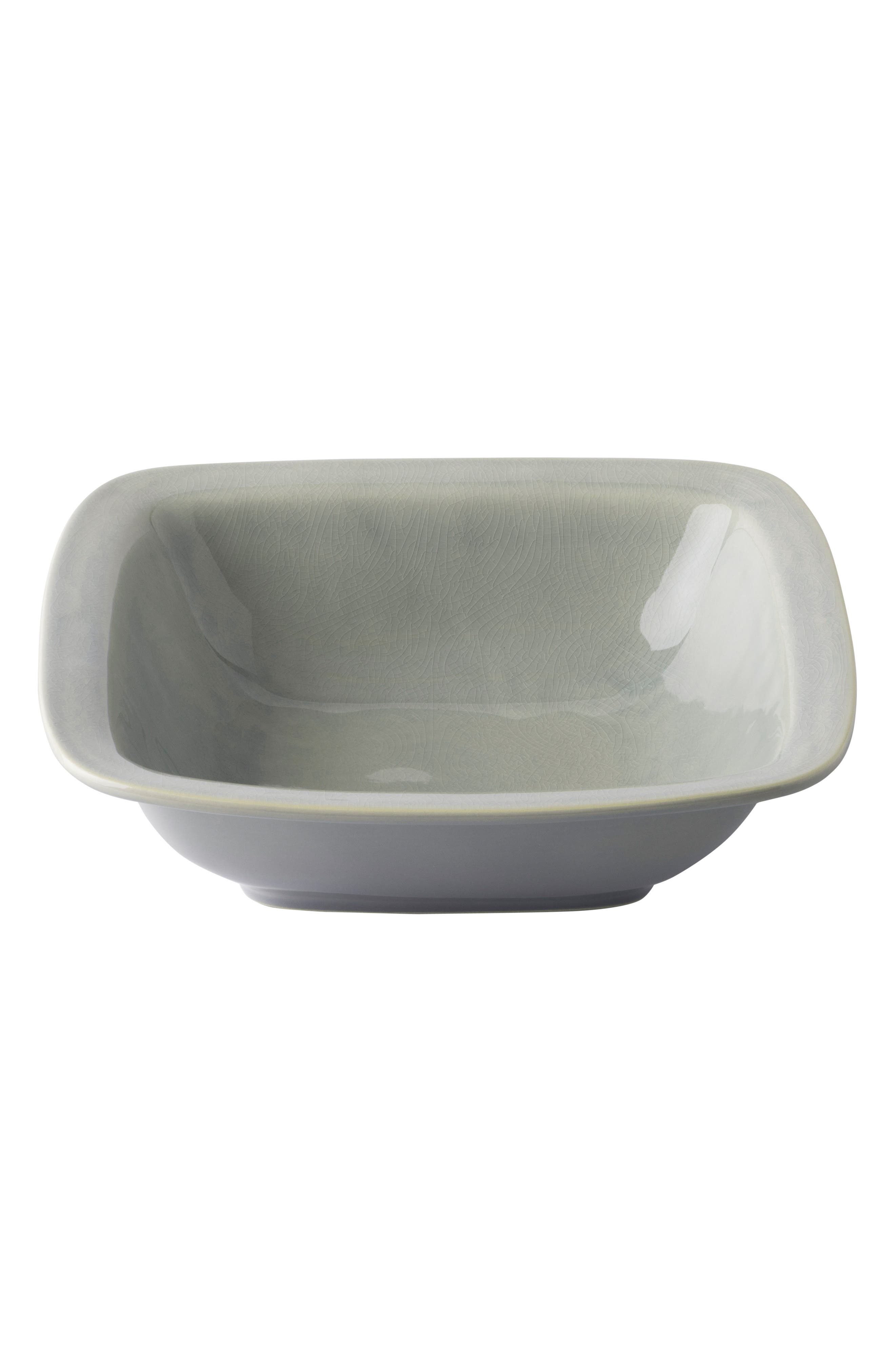 Puro Large Ceramic Serving Bowl,                             Main thumbnail 1, color,                             MIST GREY CRACKLE