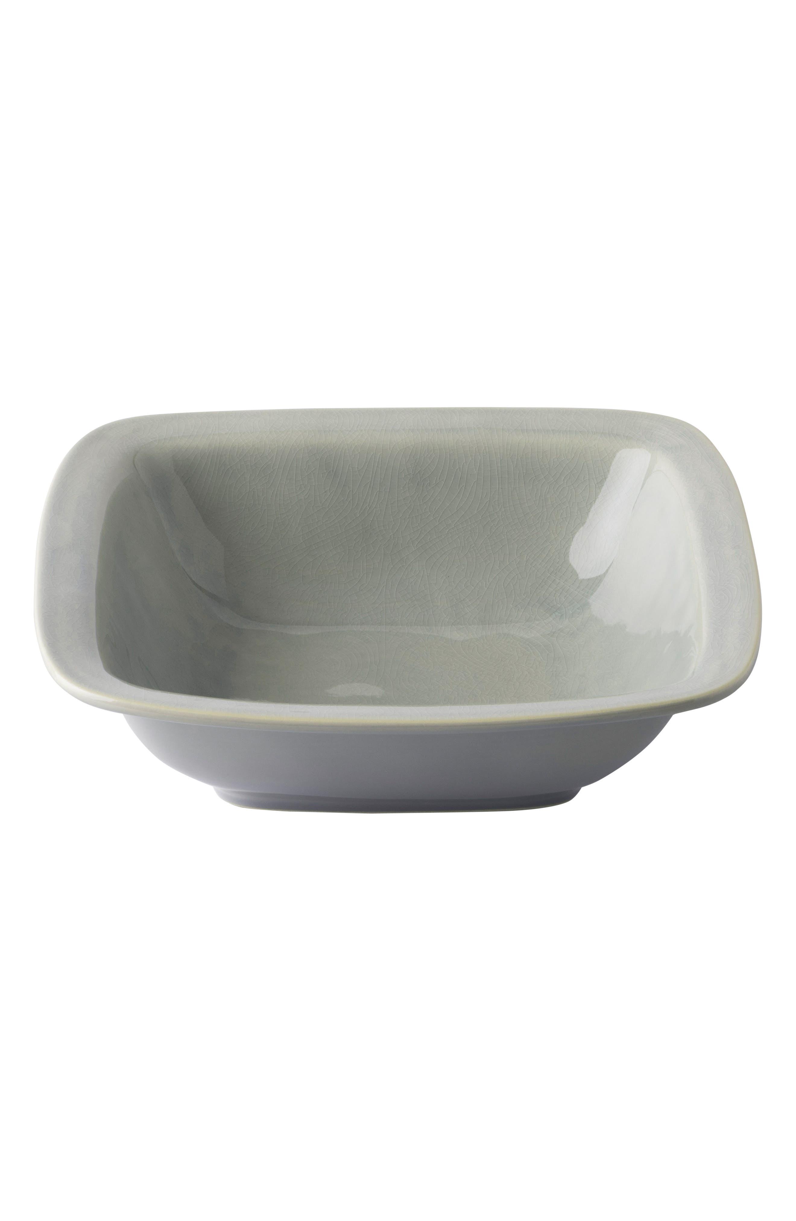 Puro Large Ceramic Serving Bowl,                         Main,                         color, MIST GREY CRACKLE