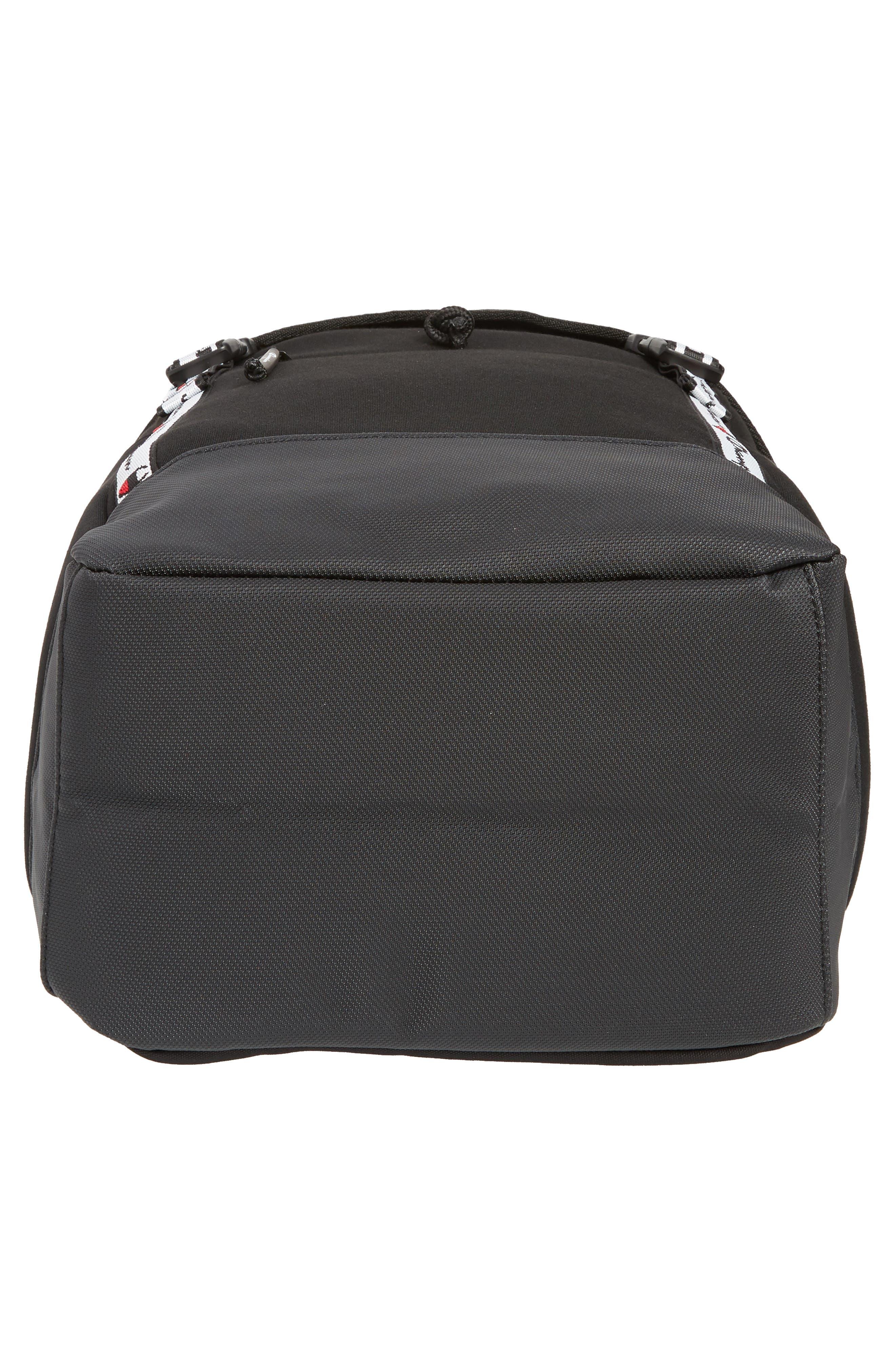 Top Load Backpack,                             Alternate thumbnail 6, color,                             BLACK