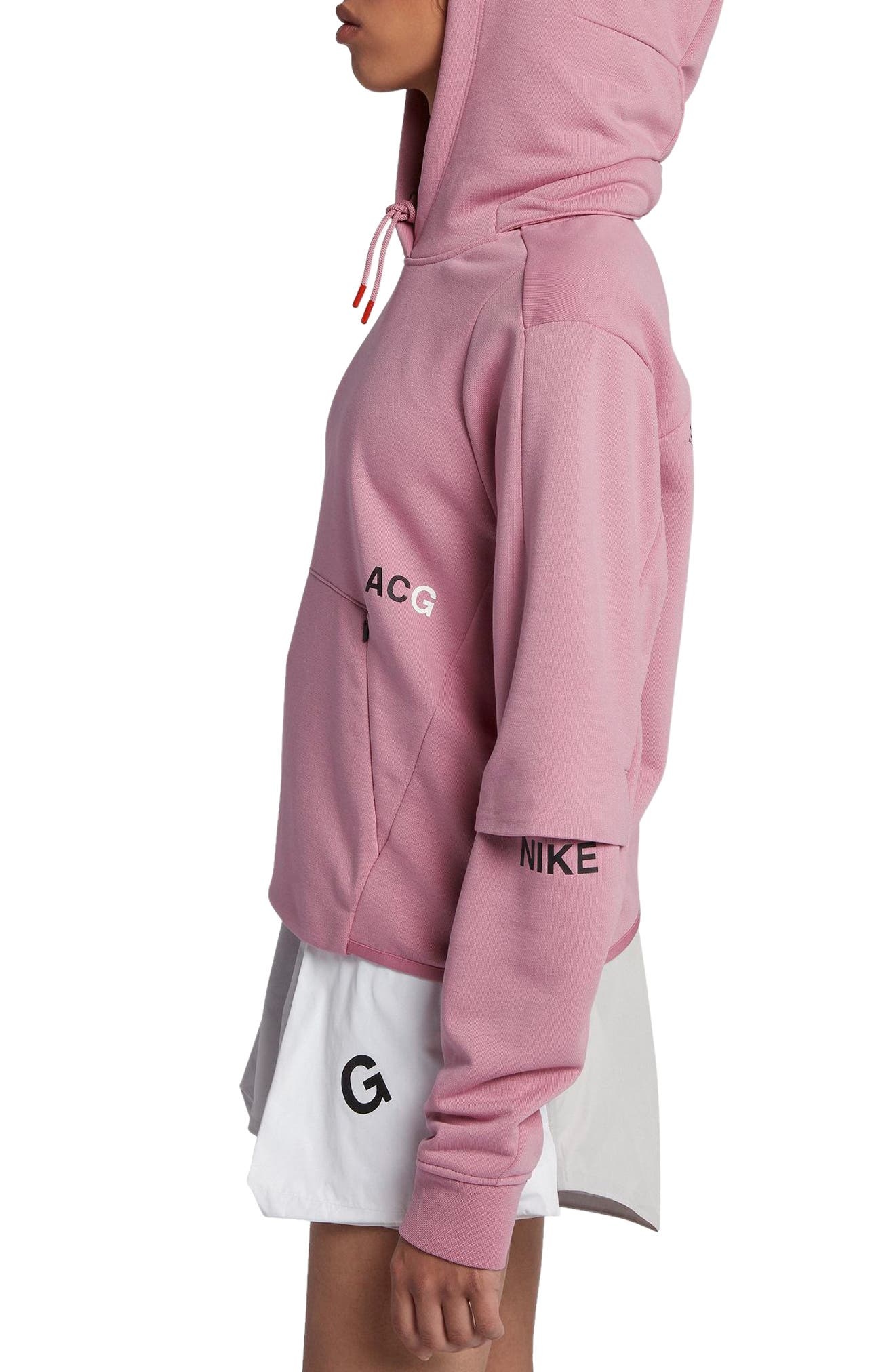 NikeLab ACG Women's Pullover Hoodie,                             Alternate thumbnail 9, color,