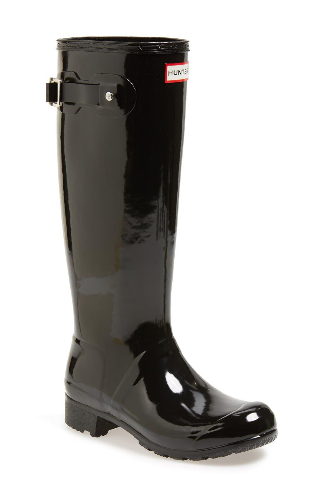 Original Tour Gloss Packable Rain Boot,                             Main thumbnail 4, color,