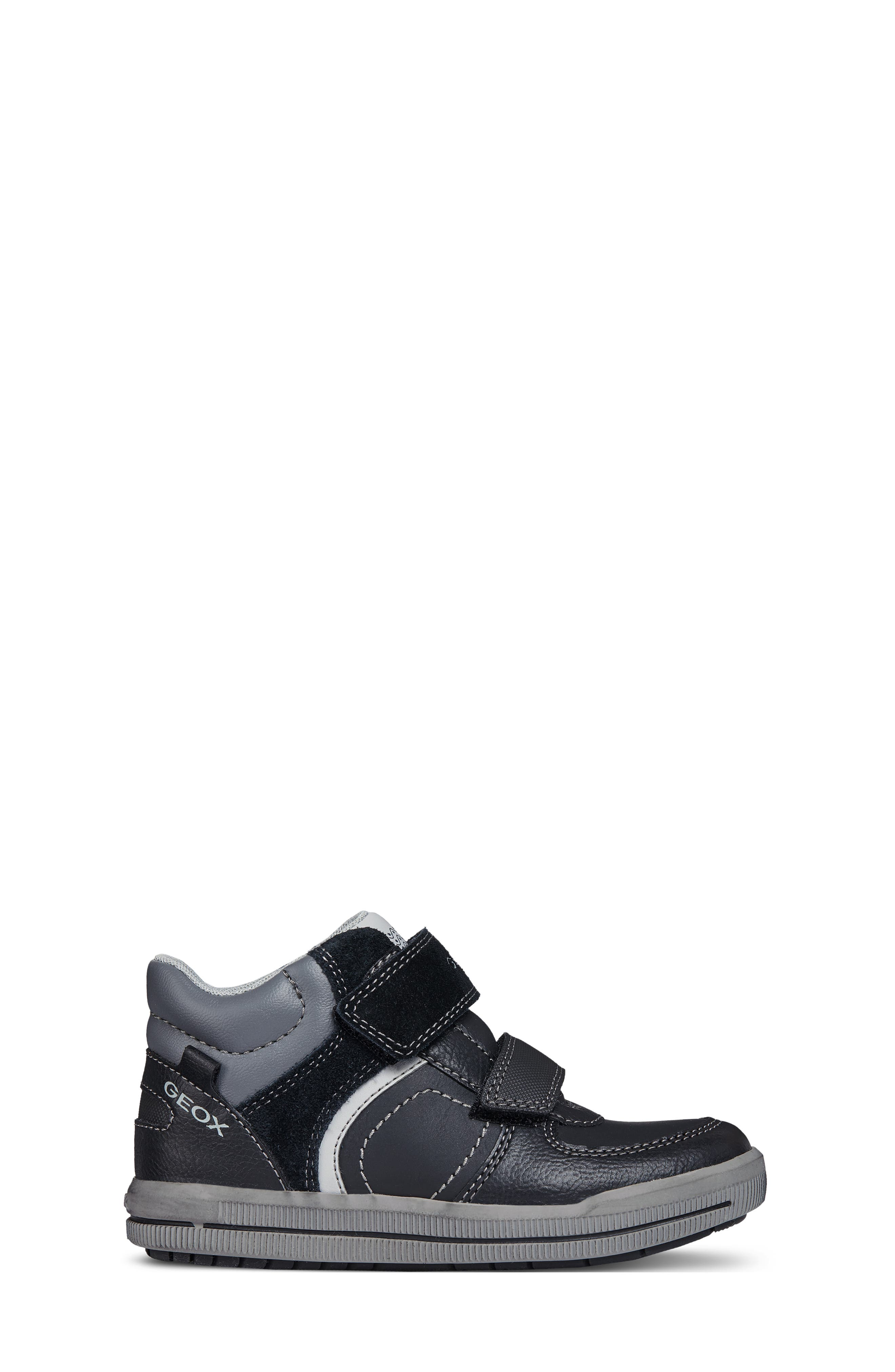 Arzach High-Top Sneaker,                             Alternate thumbnail 3, color,                             BLACK/DARK GREY