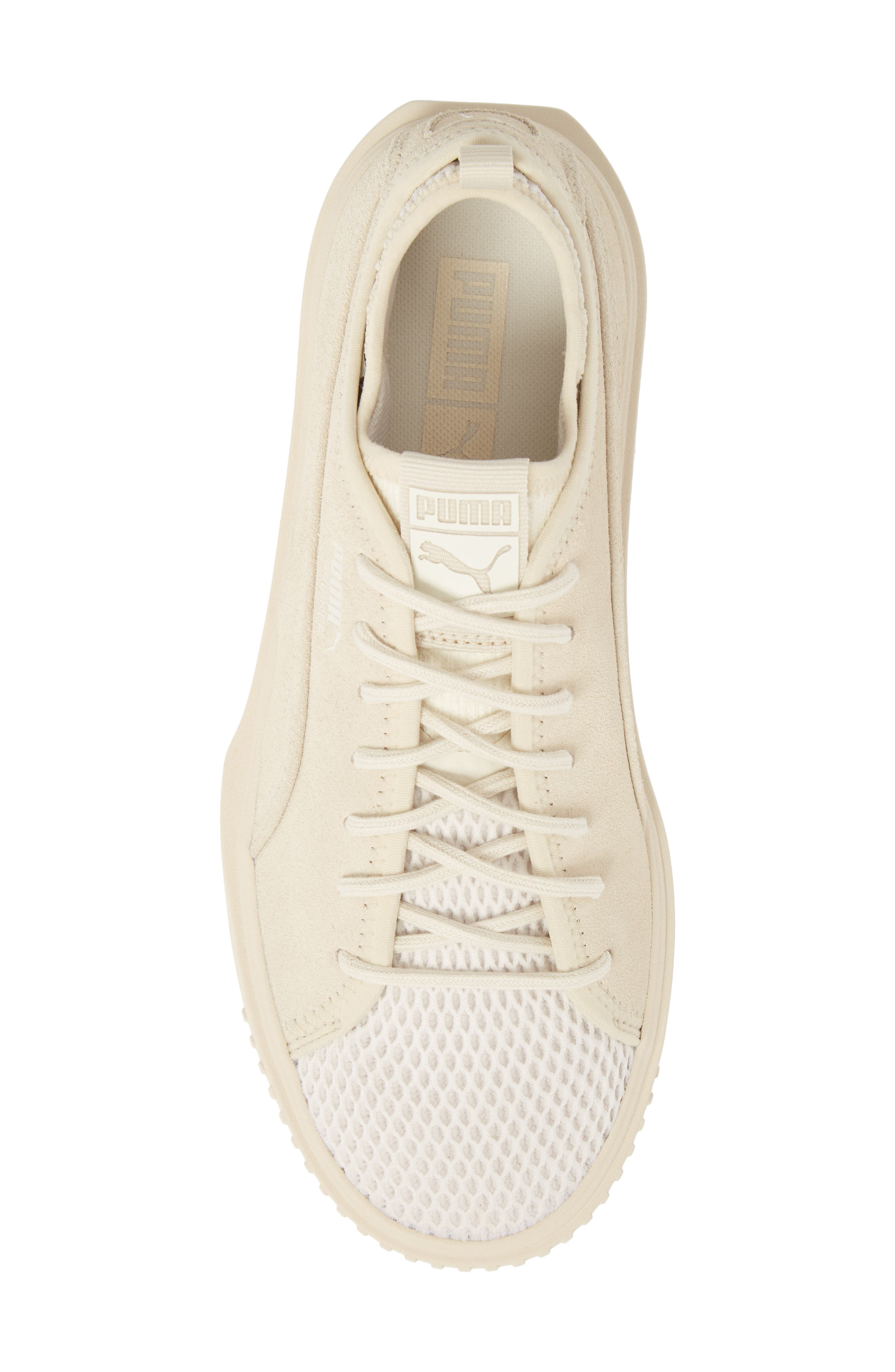 Breaker Mesh Q2 Sneaker,                             Alternate thumbnail 5, color,                             BIRCH SUEDE