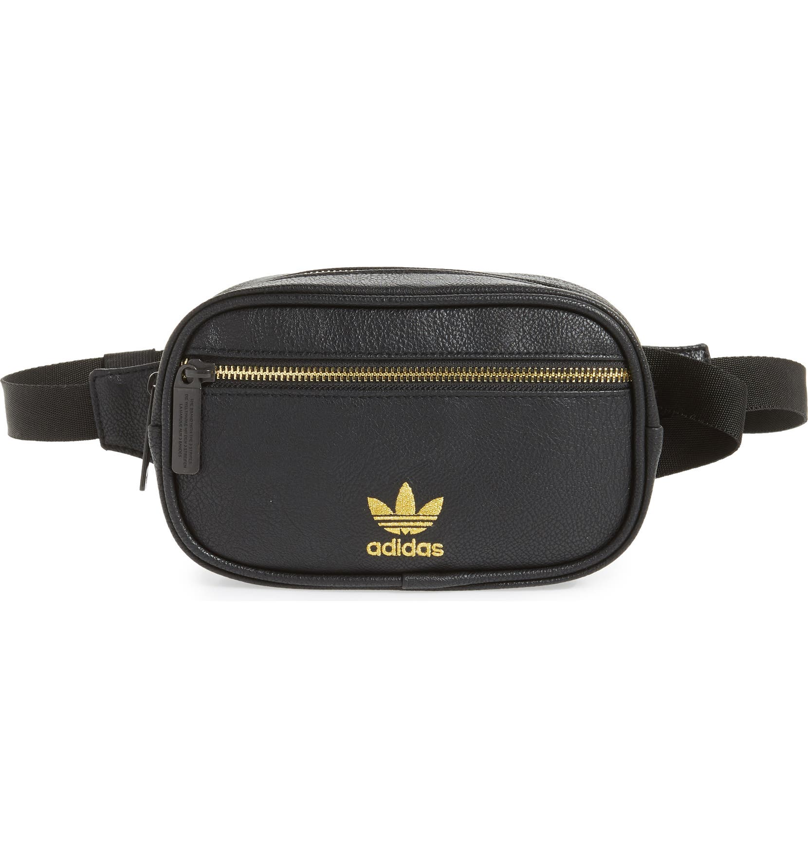 adidas Ori Faux Leather Fanny Pack  c4acb6bf712bc