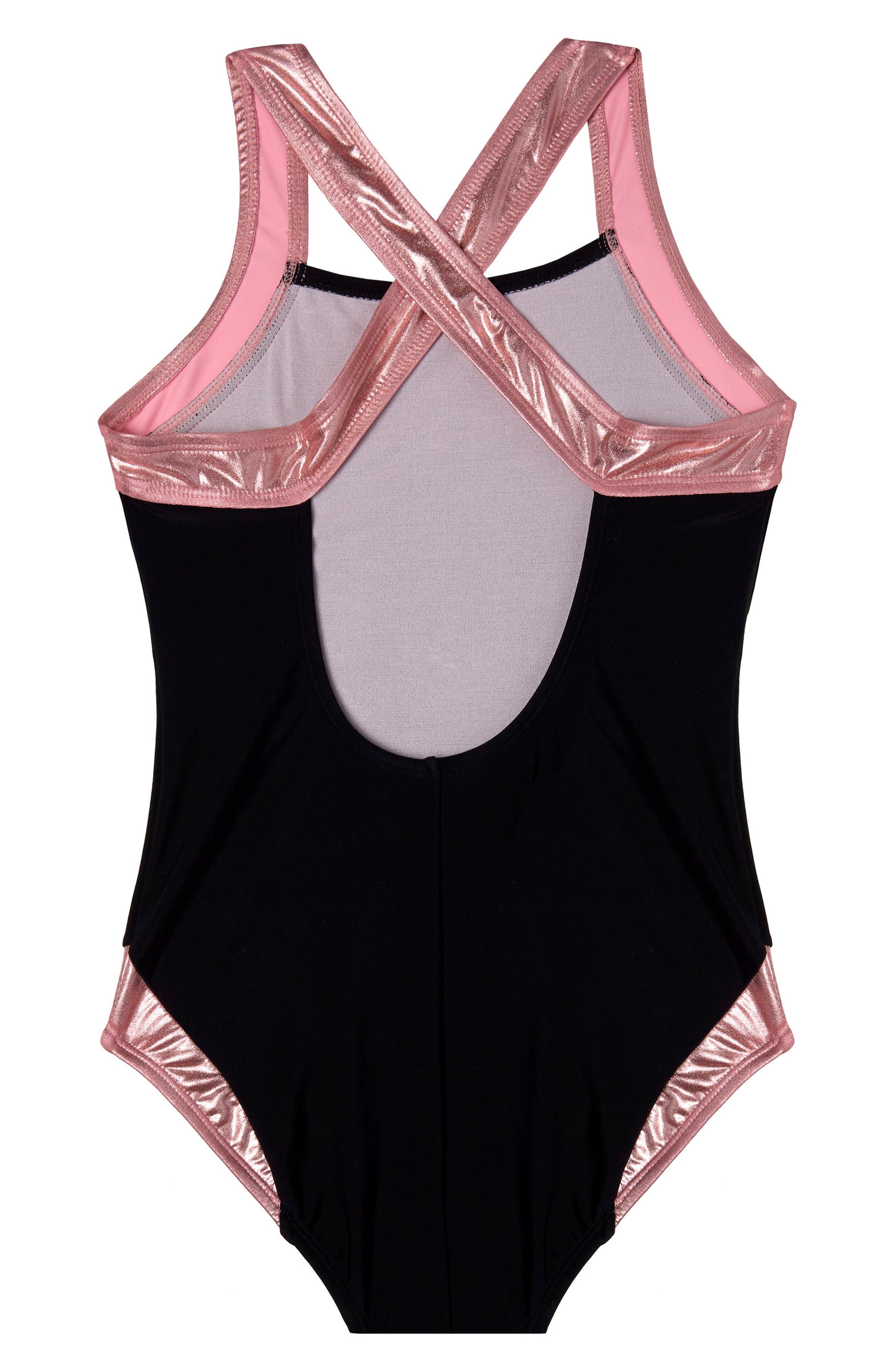 Beach Bound One-Piece Swimsuit,                             Alternate thumbnail 2, color,                             001