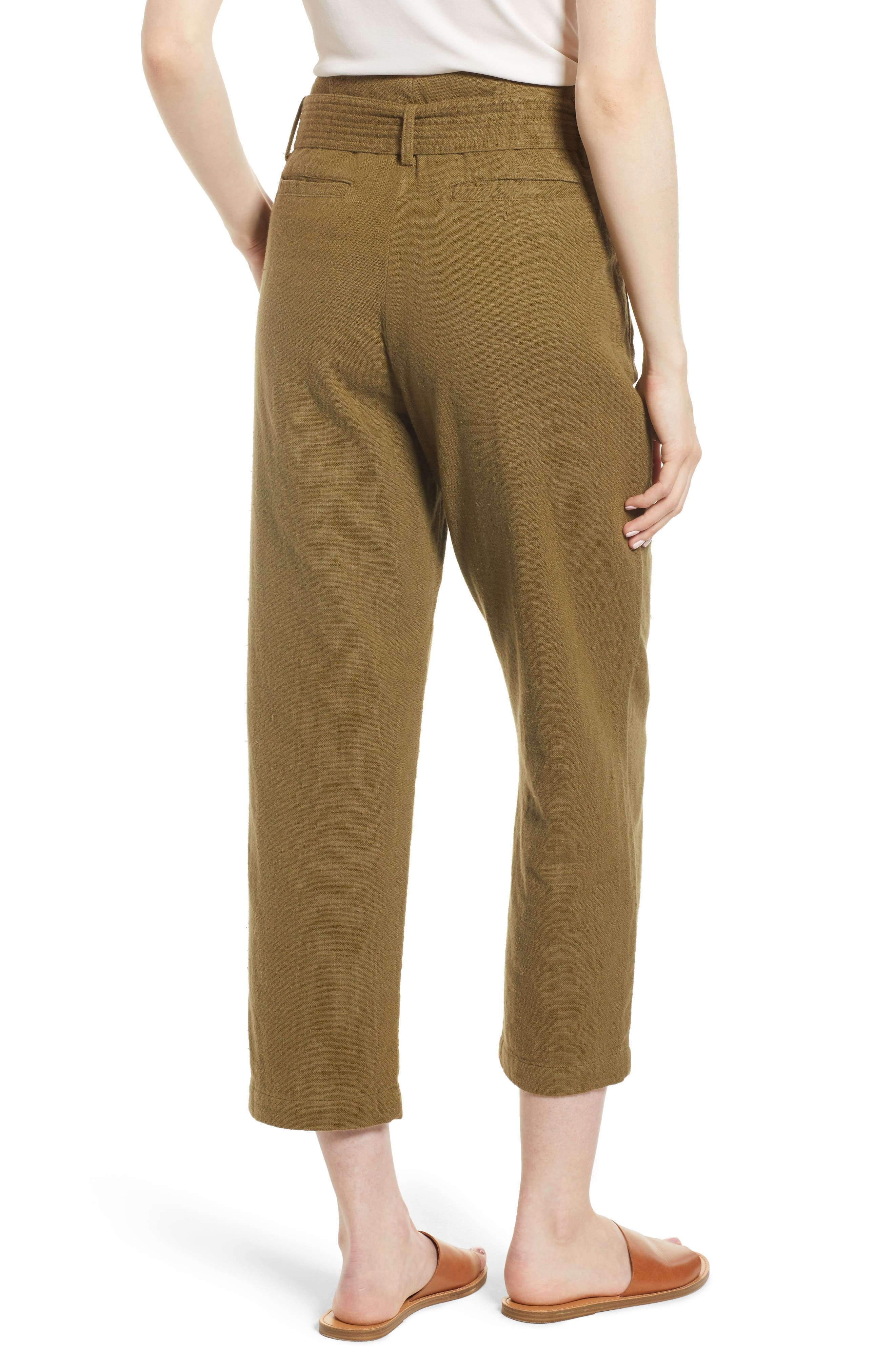 Darena Pants,                             Alternate thumbnail 2, color,                             OLIVE GROVE