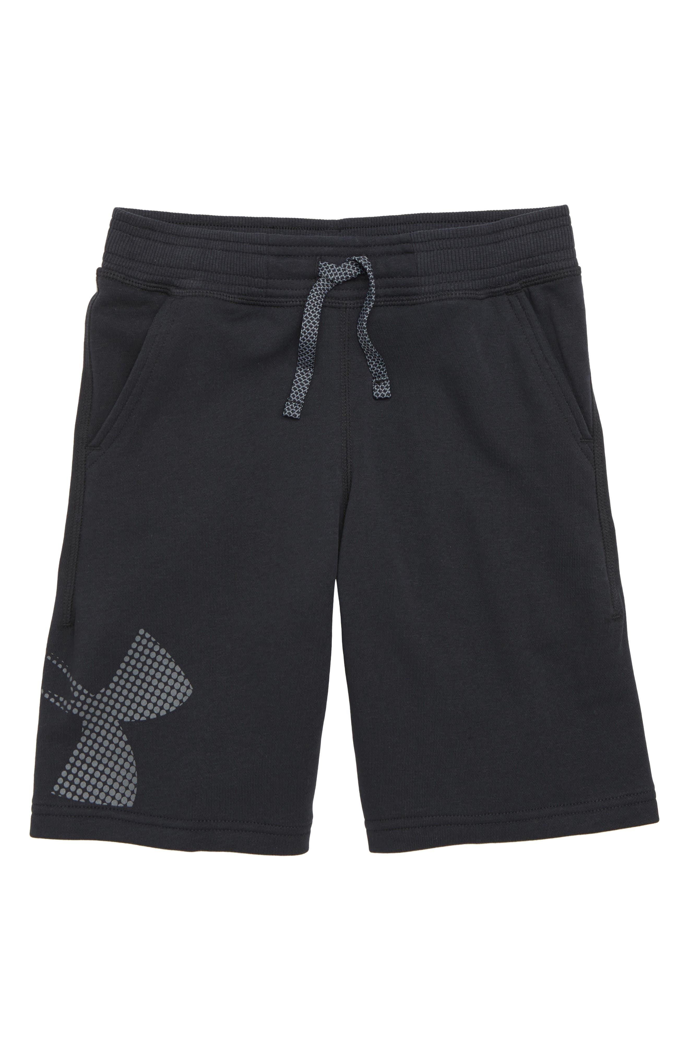 Graphic Knit Shorts,                         Main,                         color, 001