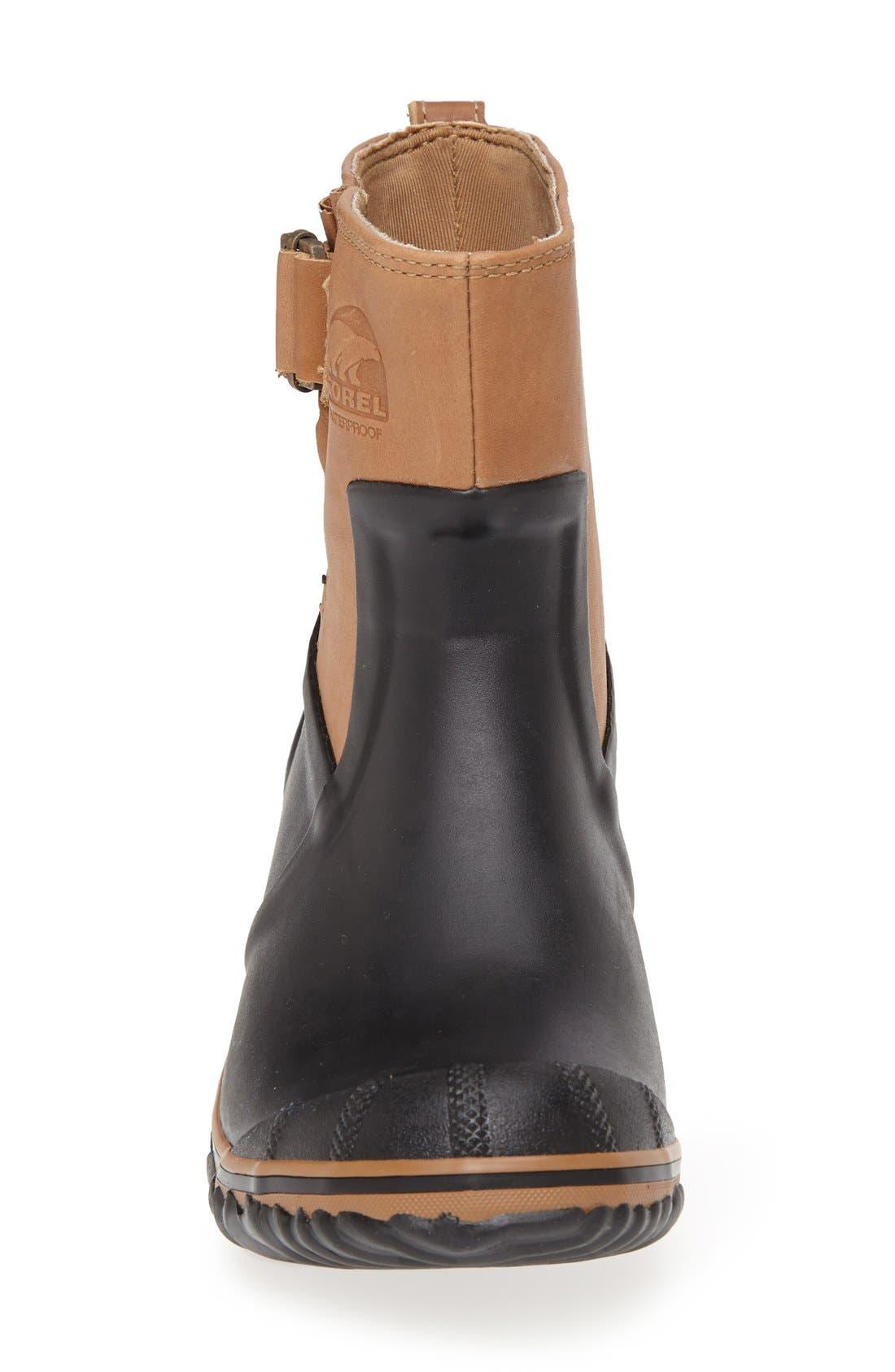 SOREL,                             'Slimpack Riding Glow<sup>™</sup>' Waterproof Boot,                             Alternate thumbnail 4, color,                             010