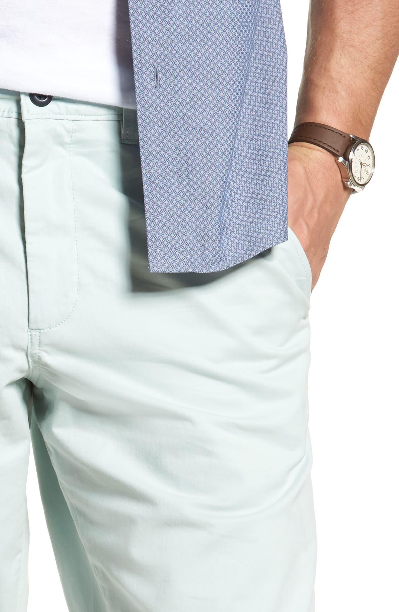 Ballard Slim Fit Stretch Chino 11-Inch Shorts,                             Alternate thumbnail 59, color,