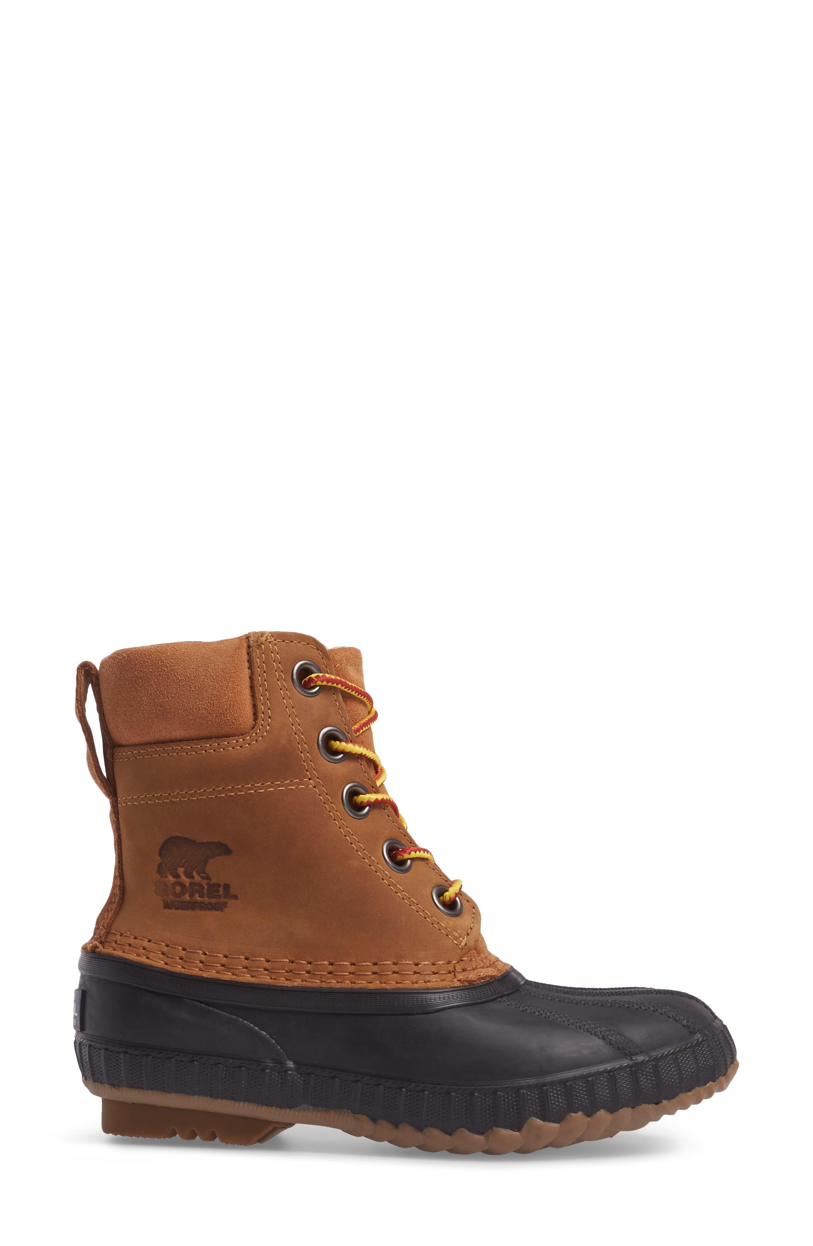 Cheyanne<sup>™</sup> II Waterproof Boot,                             Alternate thumbnail 3, color,                             ELK BLACK