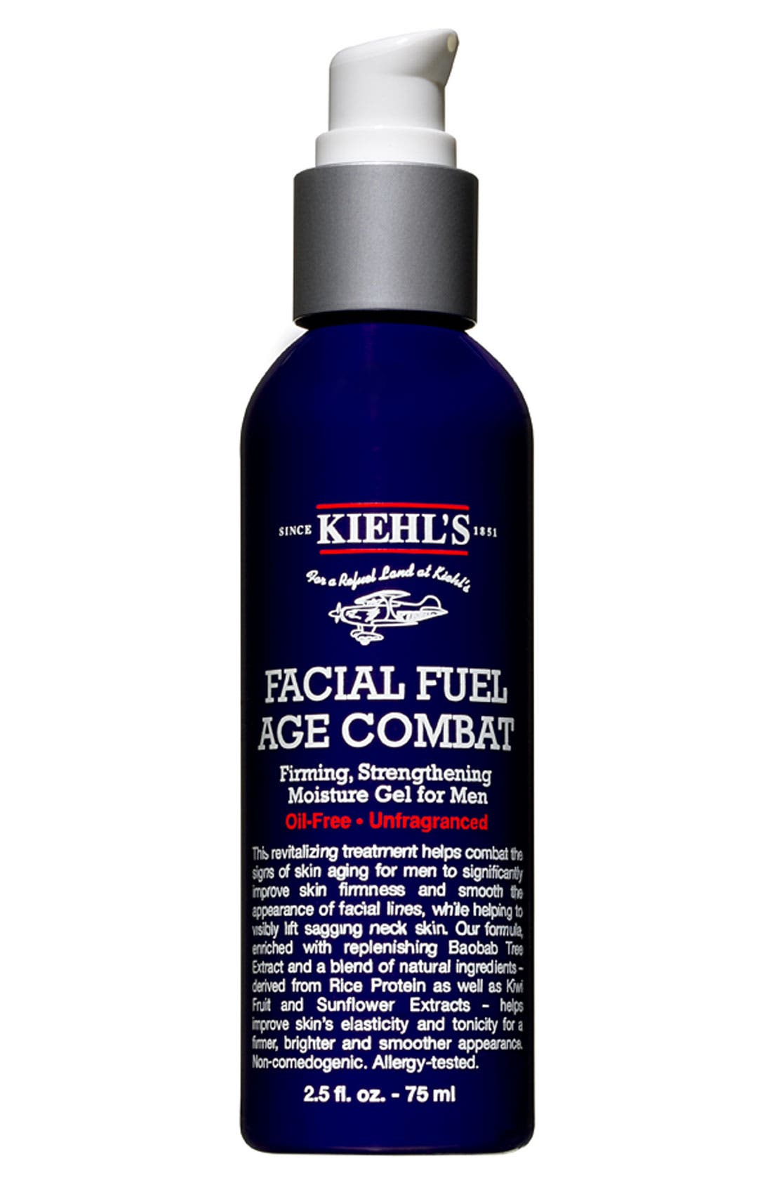 KIEHL'S SINCE 1851,                             'Facial Fuel' Age Combat Moisture Gel for Men,                             Main thumbnail 1, color,                             000
