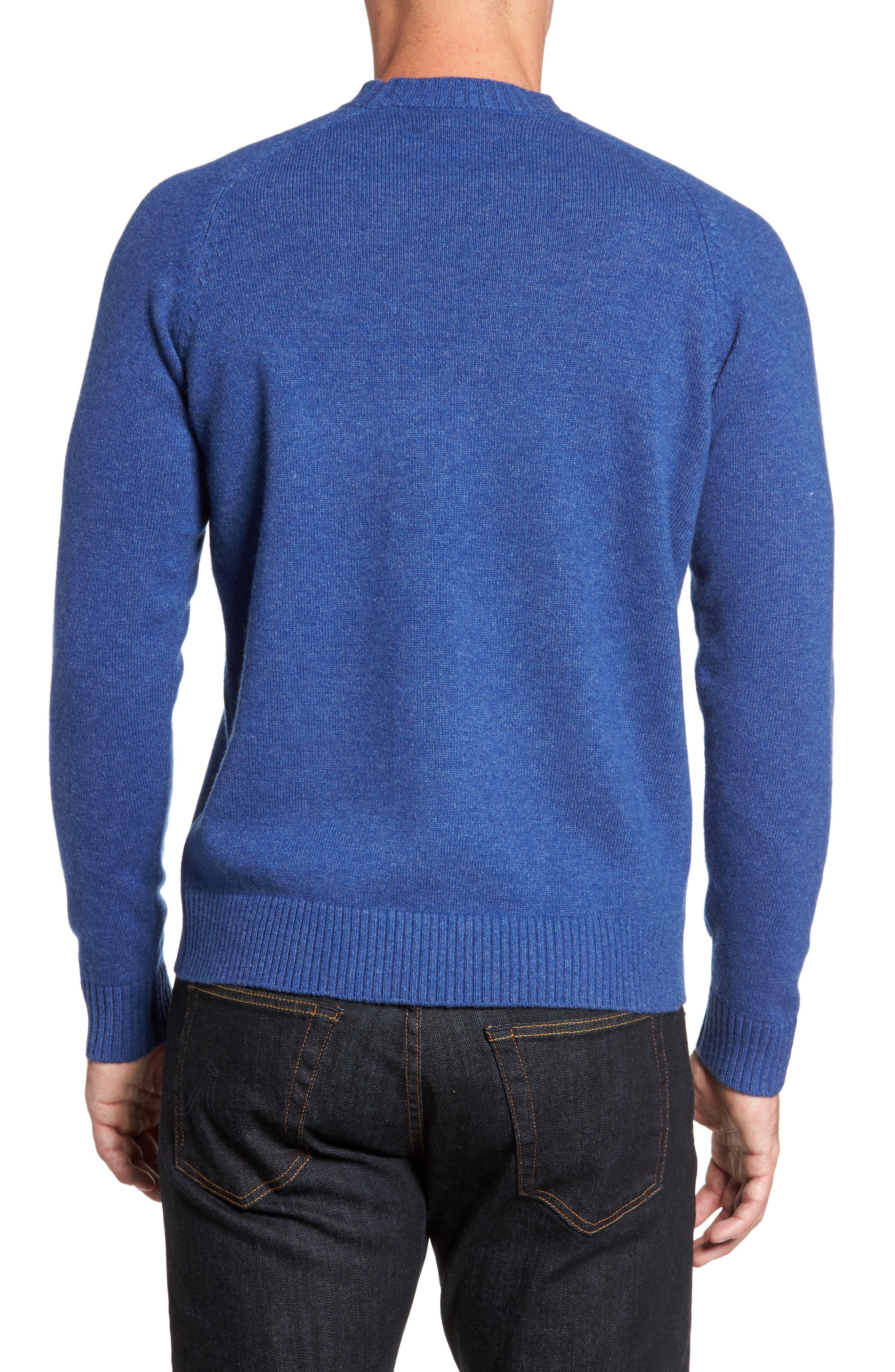 Crown Vintage Crewneck Sweatshirt,                             Alternate thumbnail 4, color,