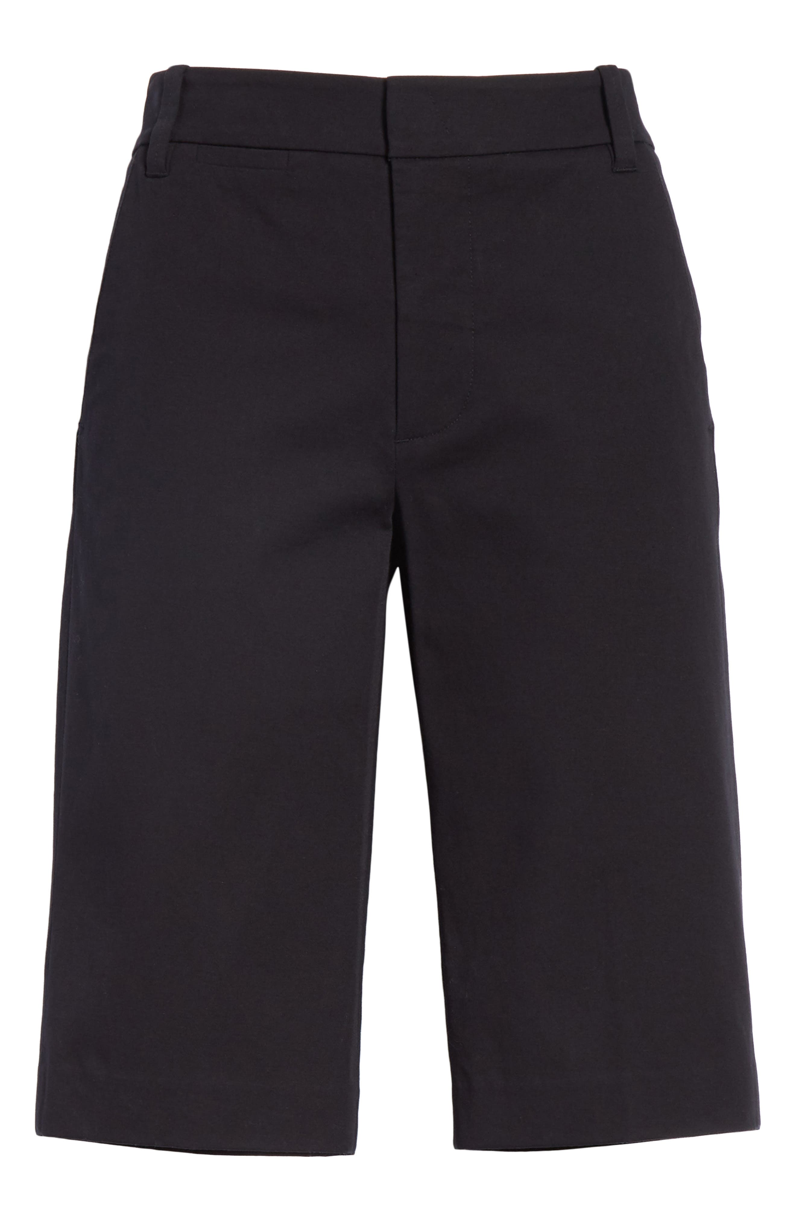 Bermuda Shorts,                             Alternate thumbnail 6, color,                             BLACK
