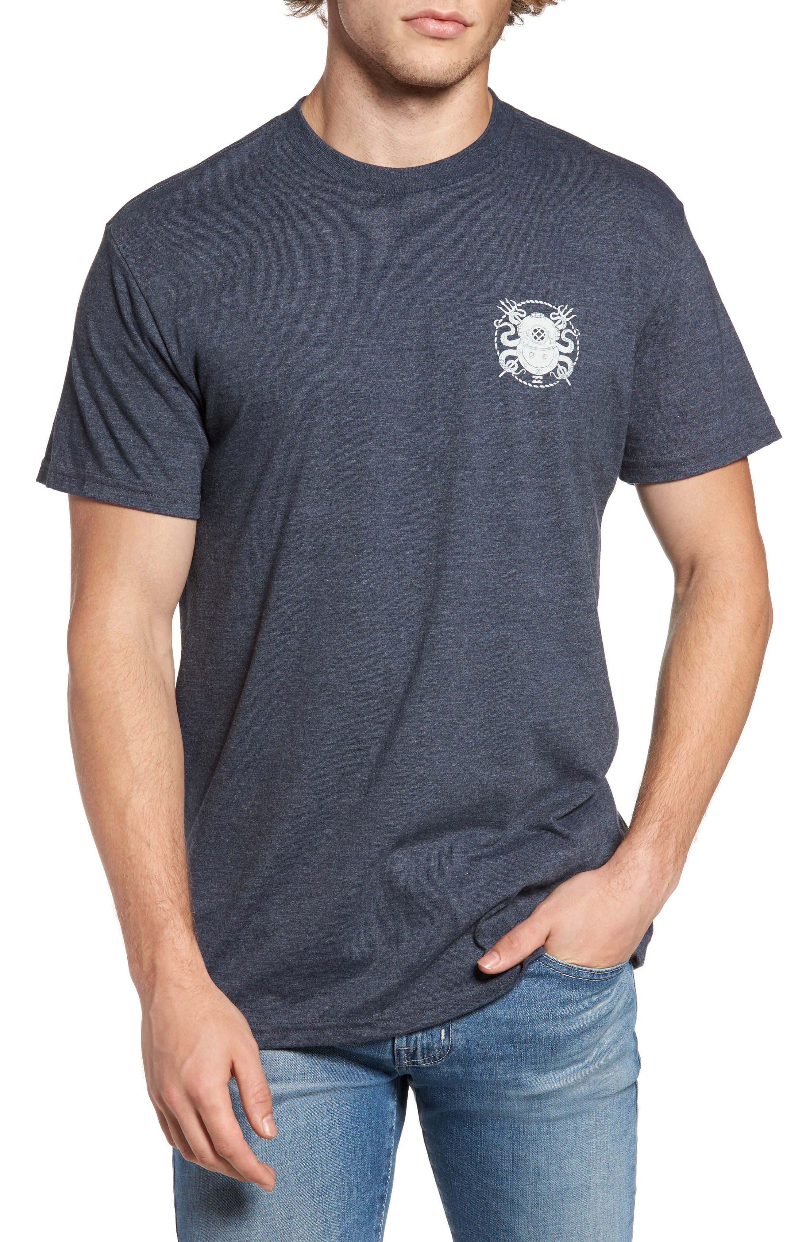 Diver Graphic T-Shirt,                             Main thumbnail 1, color,                             412