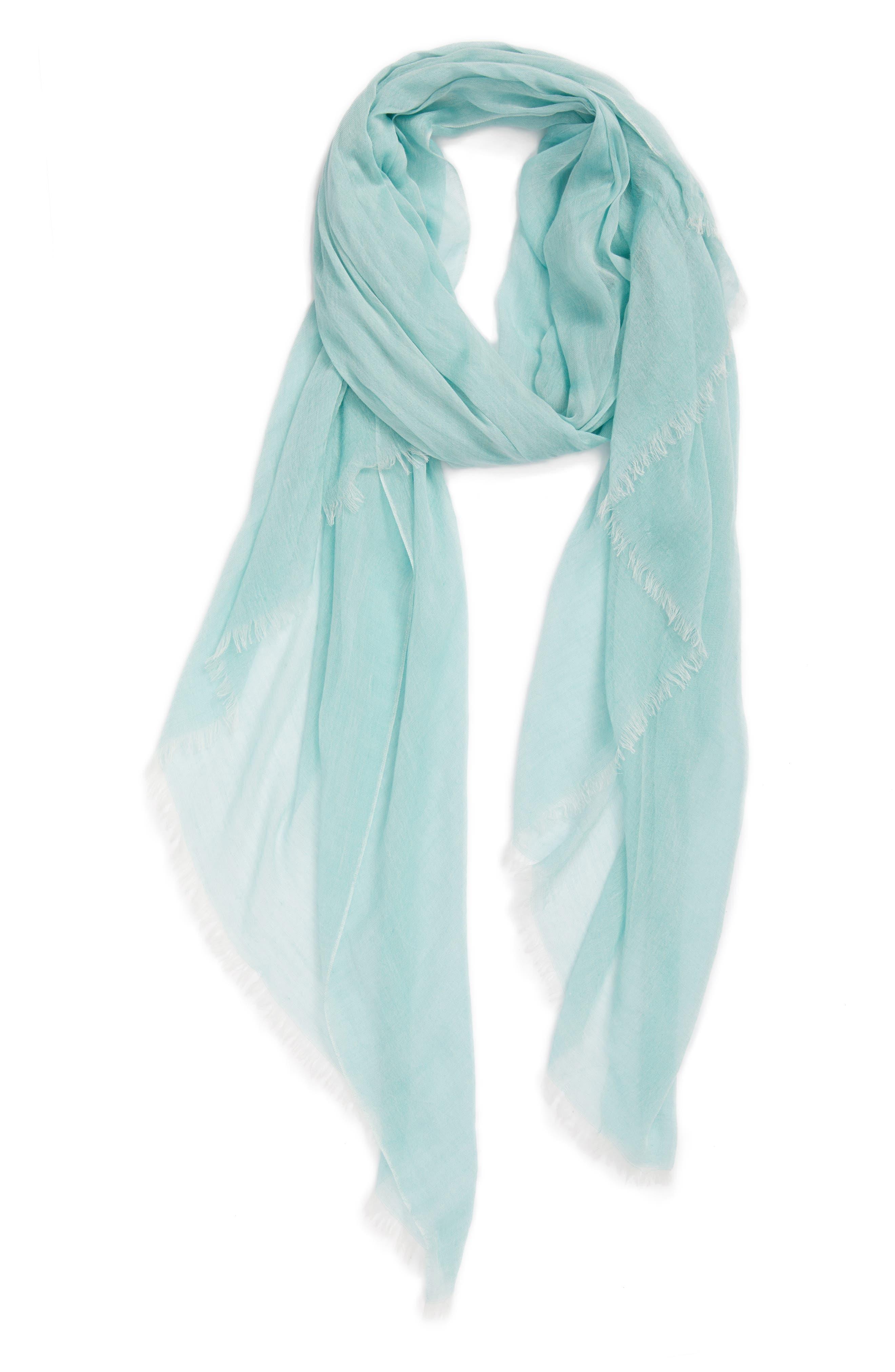 Modal Silk Blend Scarf,                             Alternate thumbnail 42, color,