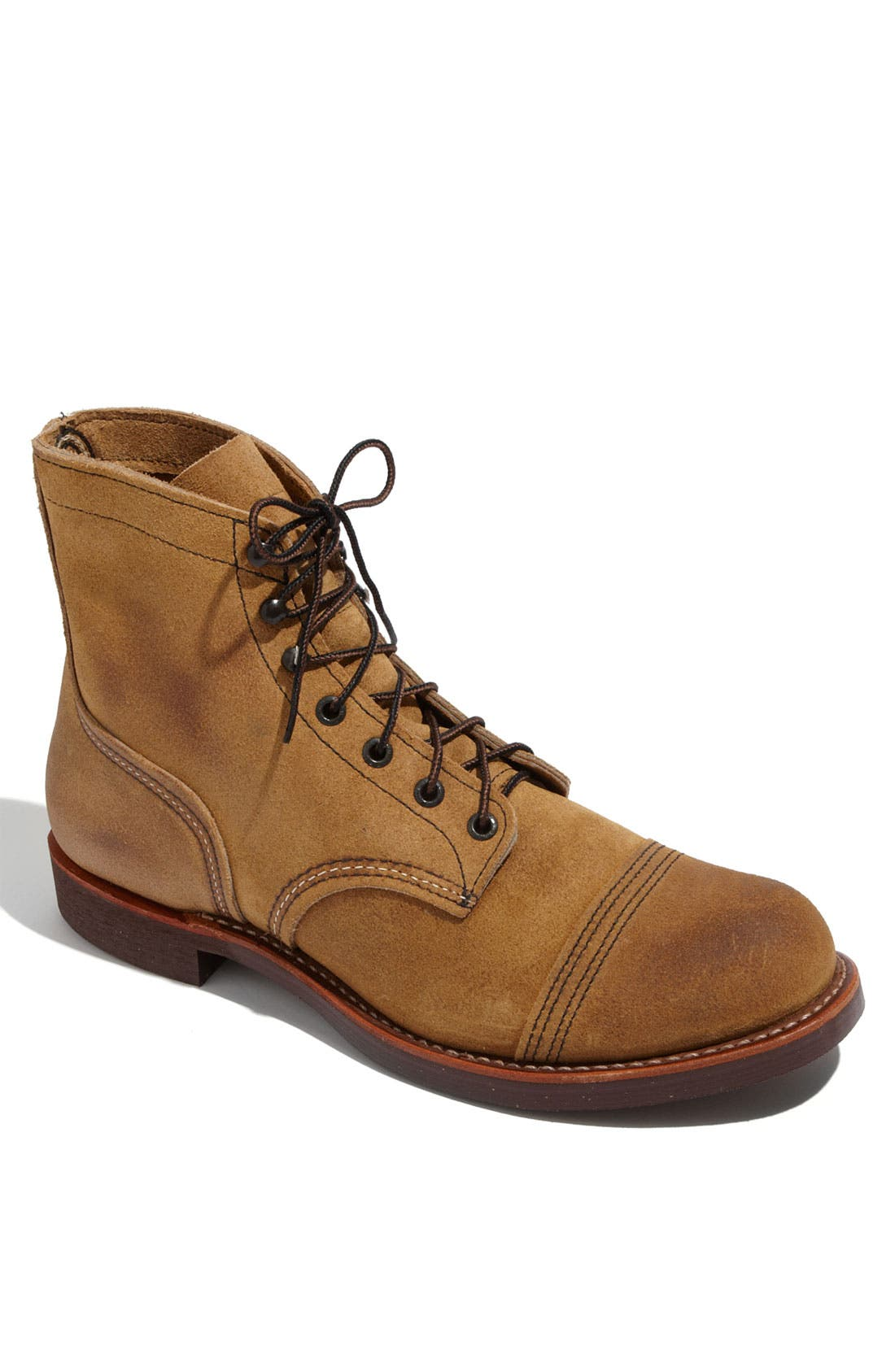 'Iron Ranger' 6 Inch Boot,                             Main thumbnail 1, color,                             AMBER HARNESS LEATHER