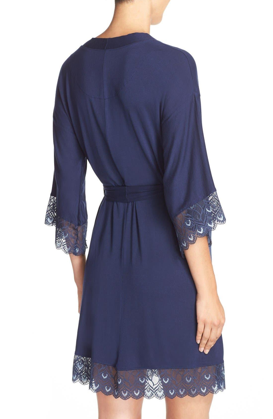'Tallulah' Maternity Jersey Robe,                             Alternate thumbnail 10, color,