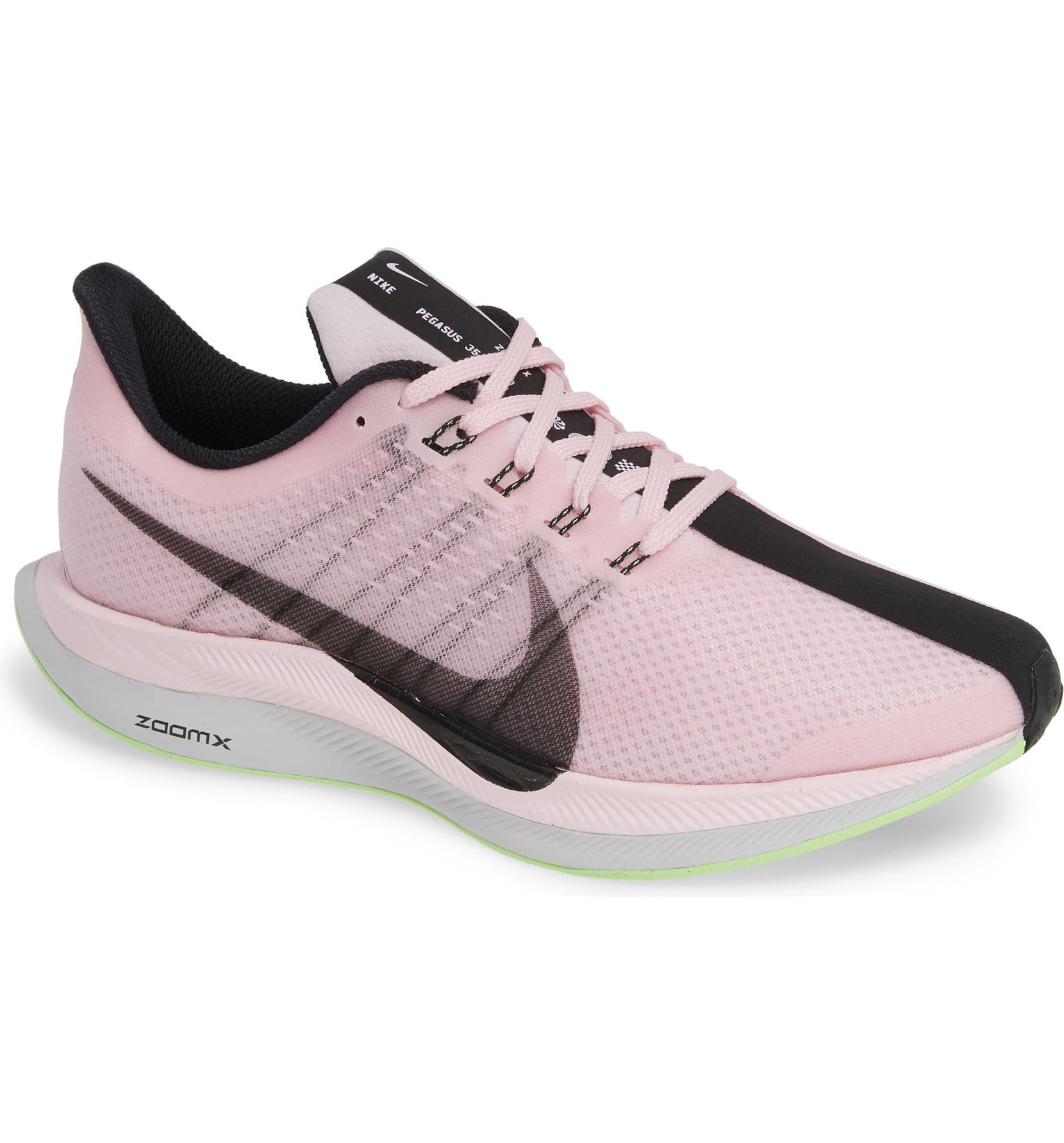 new product 0cdfc 11863 Nike Air Zoom Pegasus 35 Turbo 2 2019 Running Shoes Gray  Buy Online at  Best Price on Snapdeal