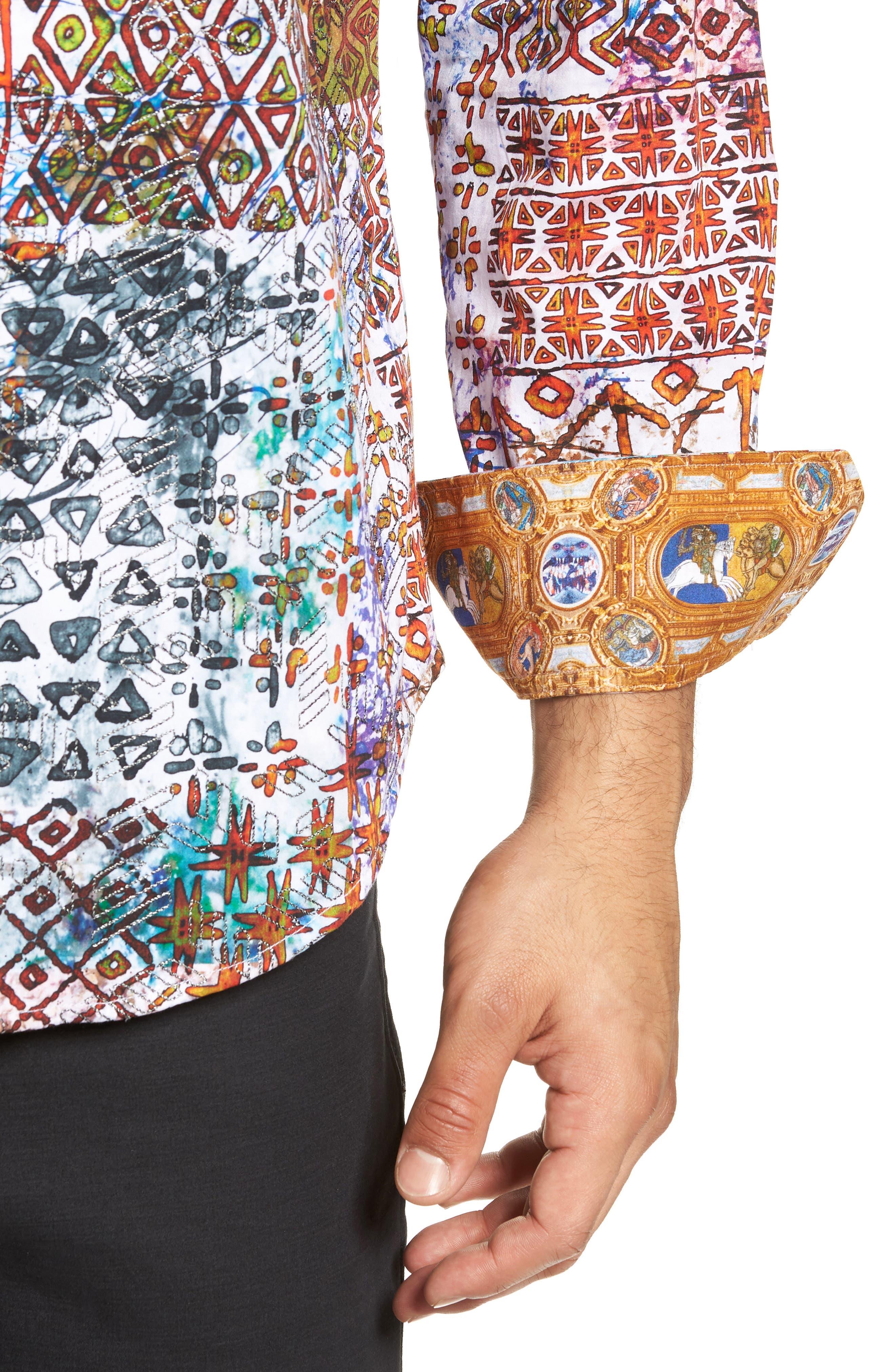 Rhone River Classic Fit Sport Shirt,                             Alternate thumbnail 2, color,                             MULTI