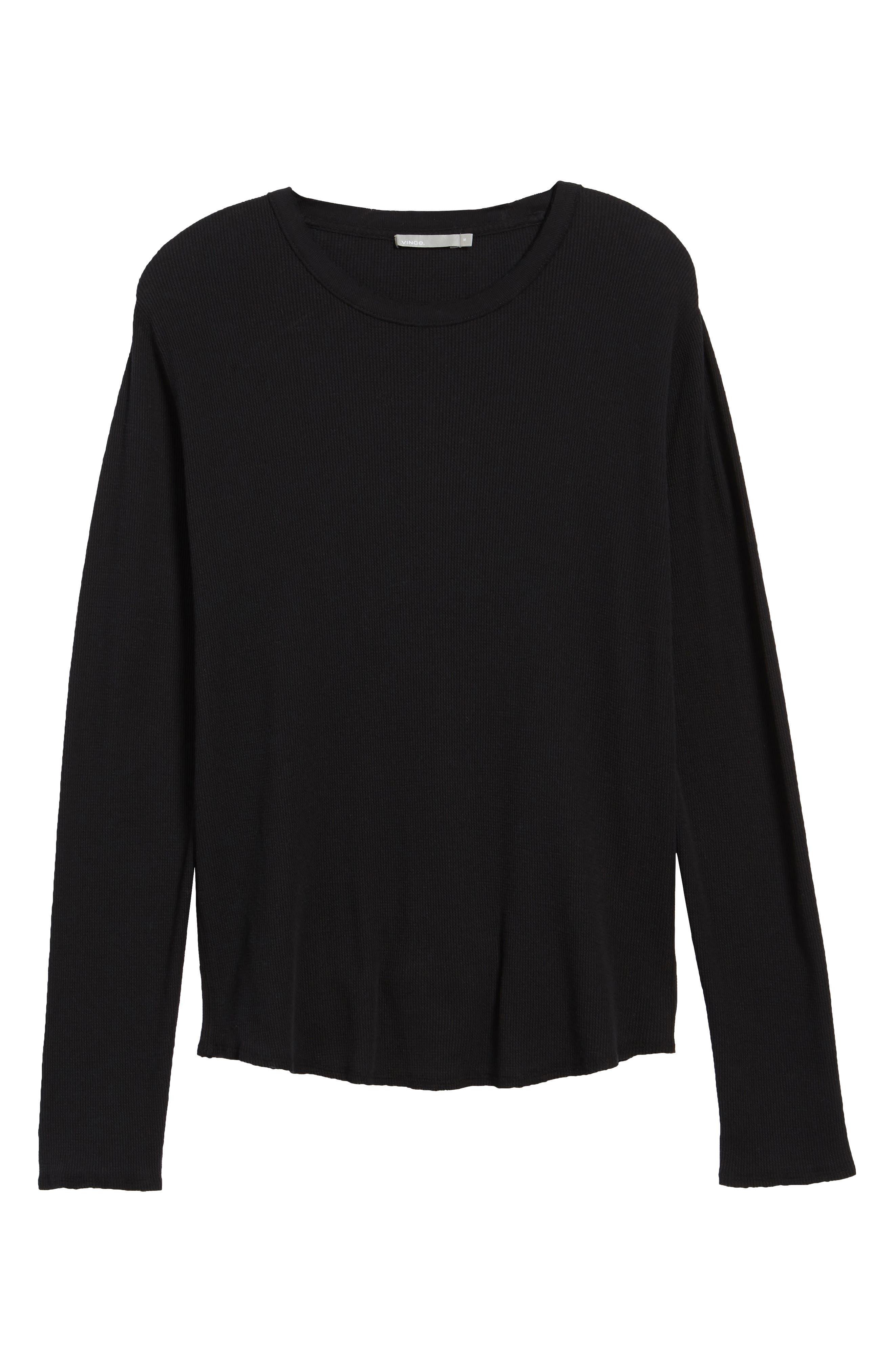 Thermal Knit Long Sleeve T-Shirt,                             Alternate thumbnail 16, color,