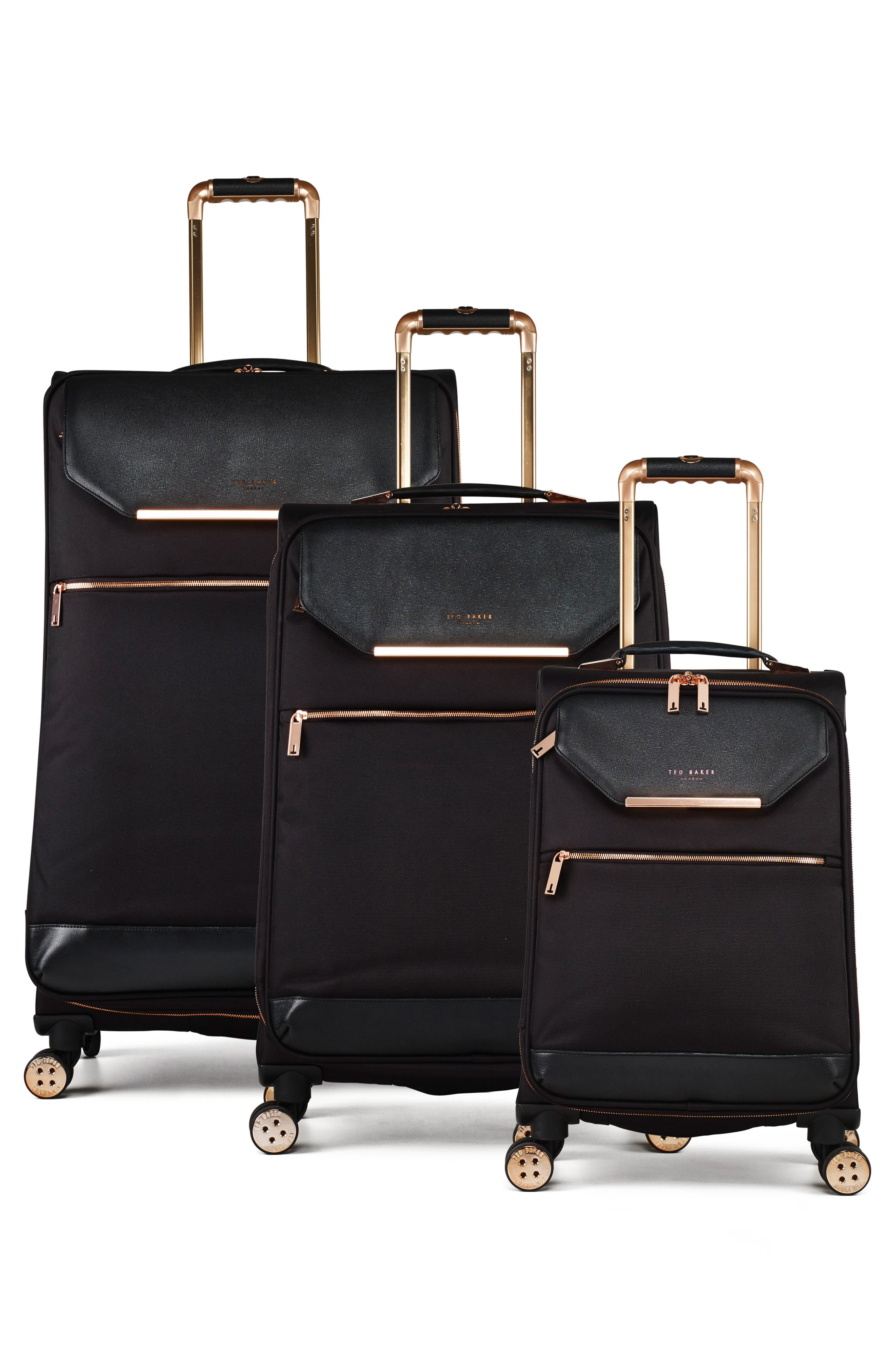 32-Inch Trolley Packing Case,                             Alternate thumbnail 3, color,                             BLACK