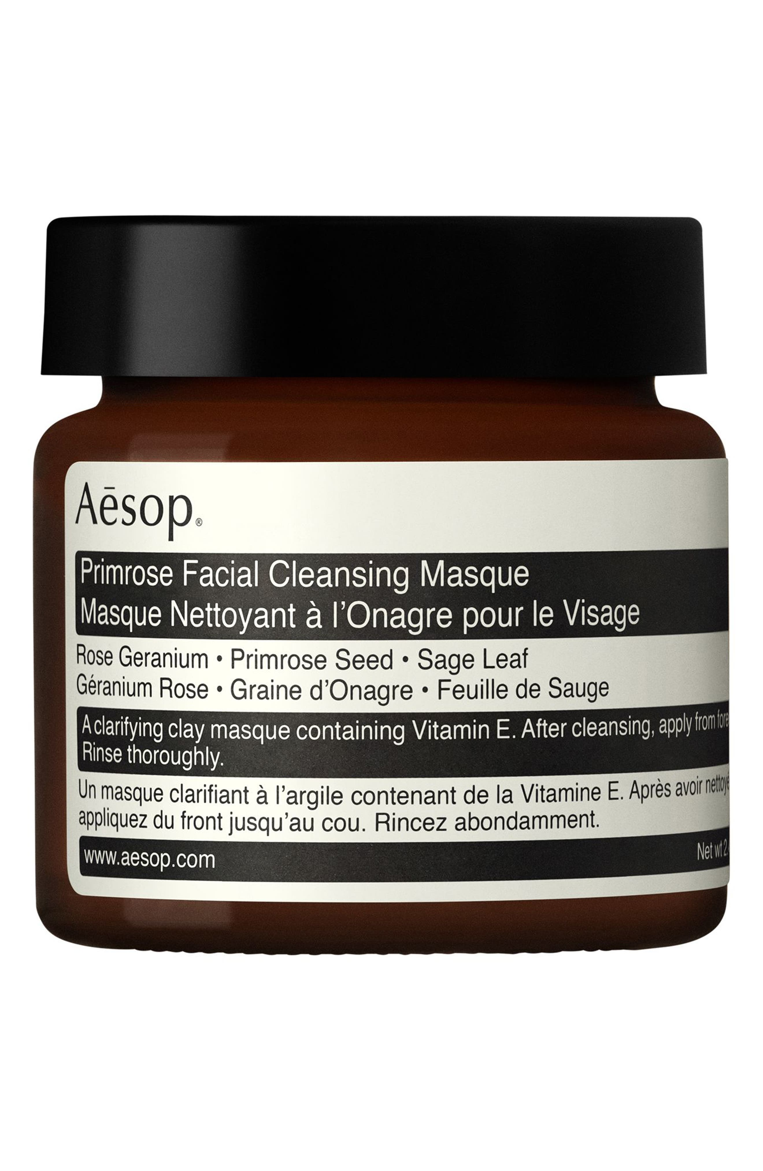Primrose Facial Cleansing Masque,                             Main thumbnail 1, color,                             NONE