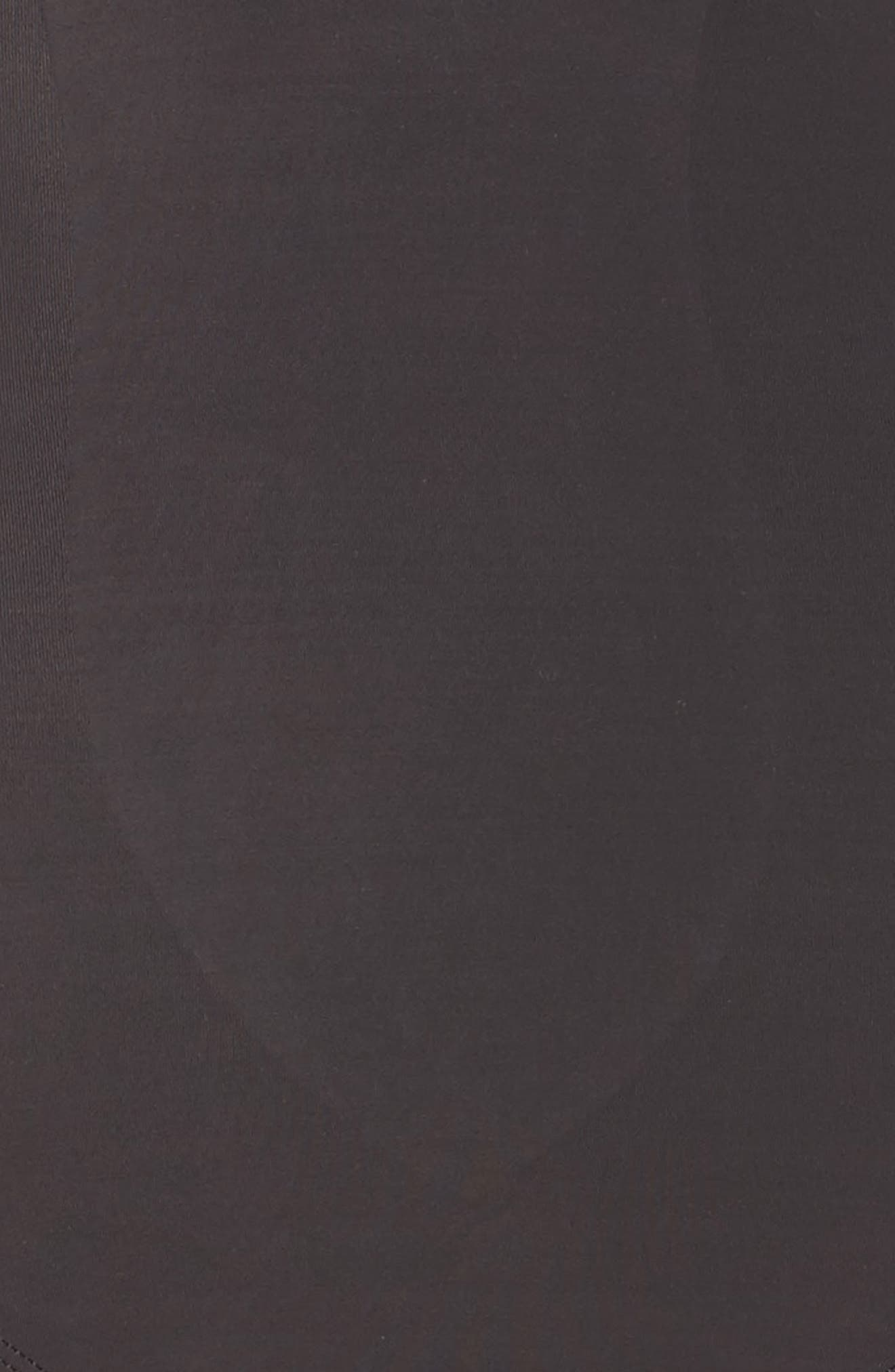 High Waist Shaping Thong,                             Alternate thumbnail 3, color,                             BLACK