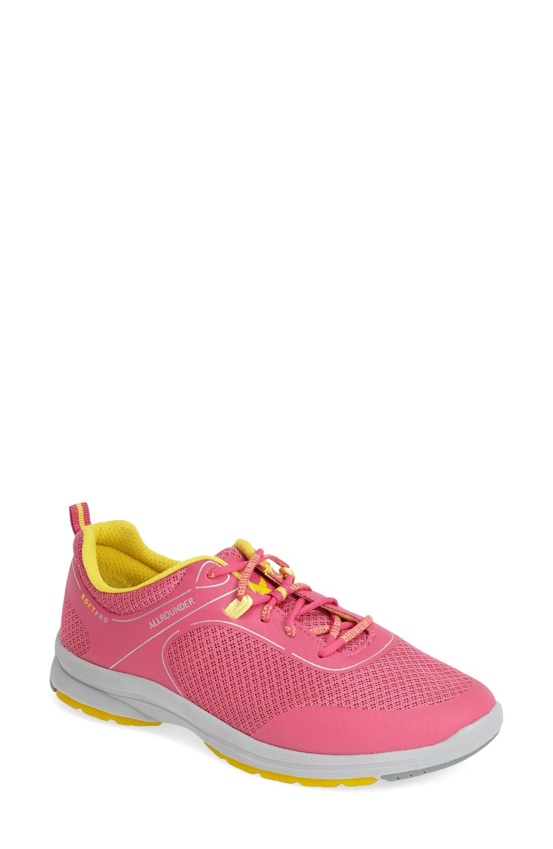 'Dakona' Sneaker,                             Main thumbnail 1, color,                             RASPBERRY