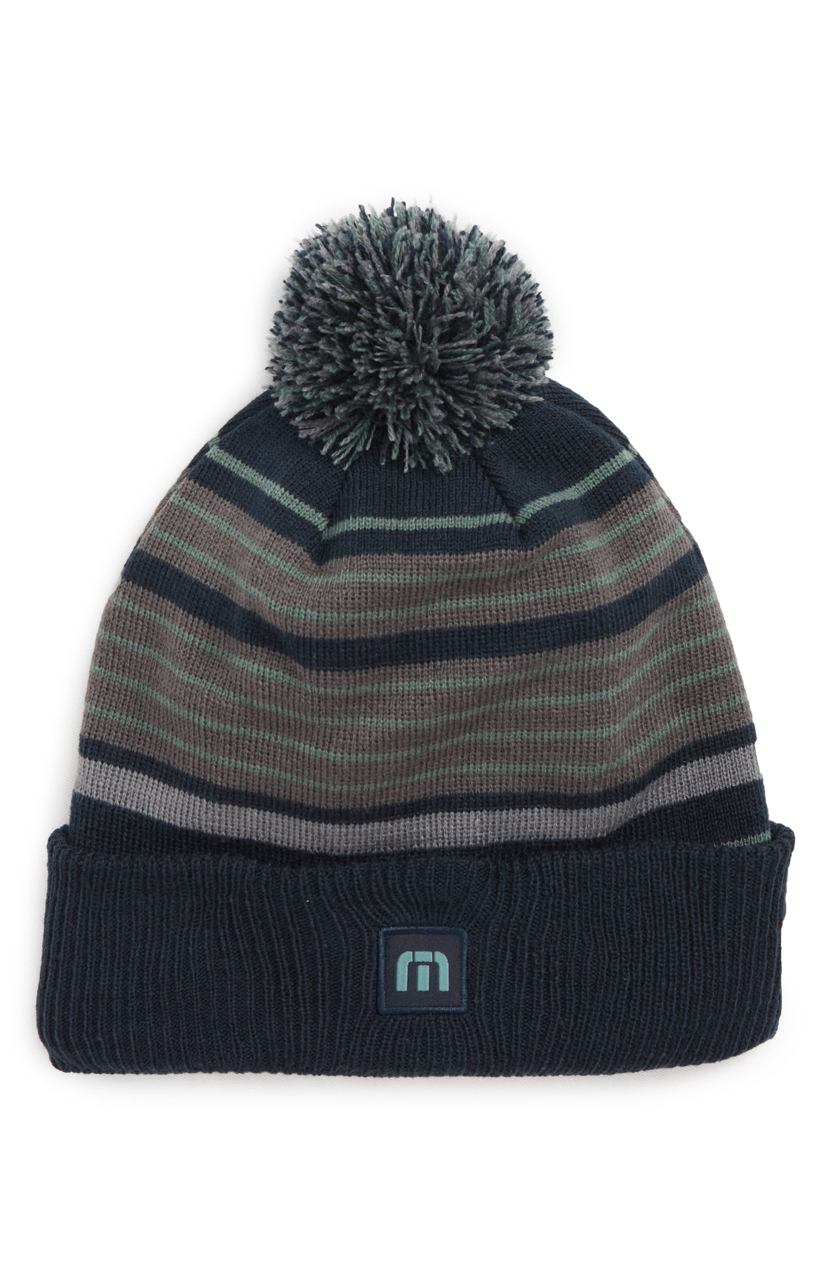 New New Beanie,                         Main,                         color, BLUE NIGHTS