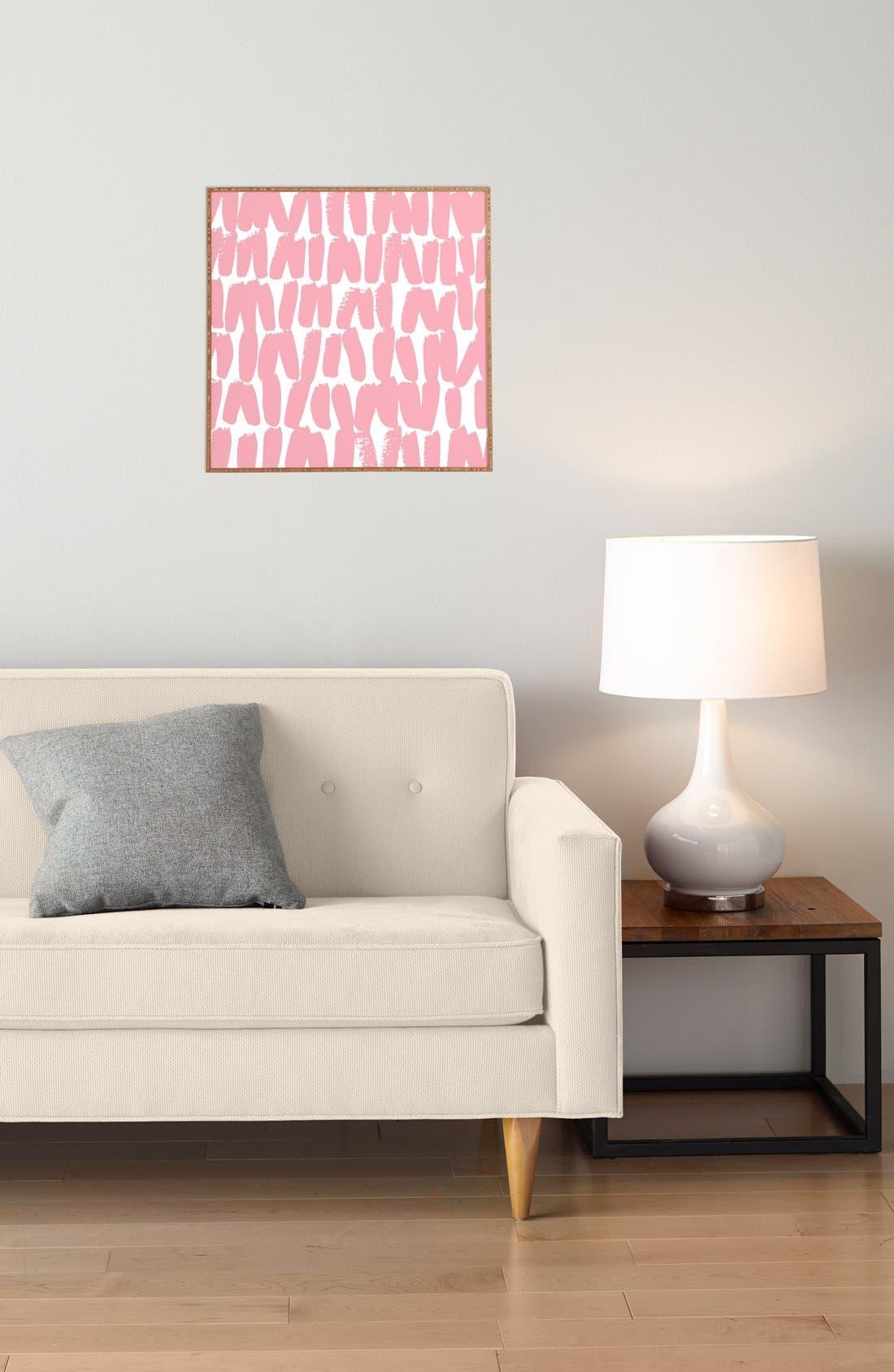 'Incandescent' Framed Wall Art,                             Alternate thumbnail 3, color,