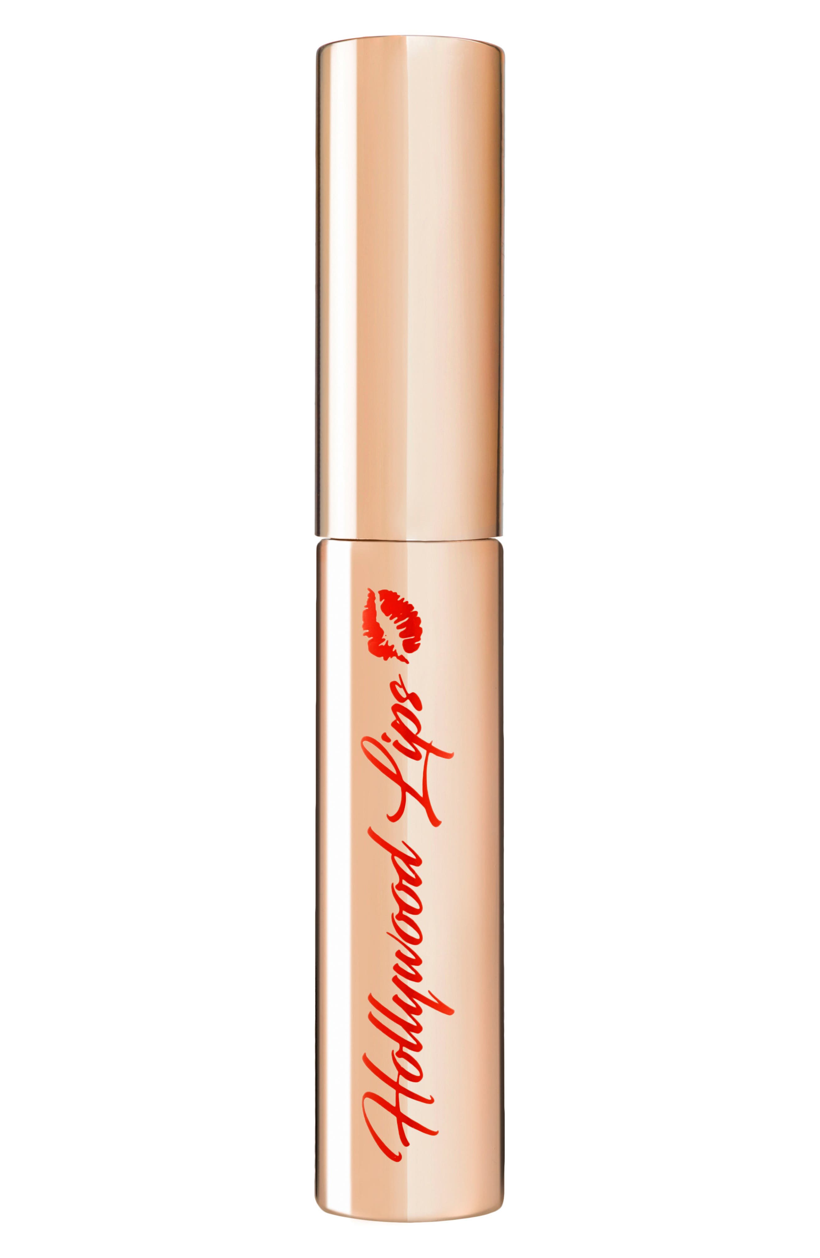 Hollywood Lips Liquid Lipstick,                             Alternate thumbnail 3, color,                             CHARLOTTE DARLING/ BEIGE NUDE