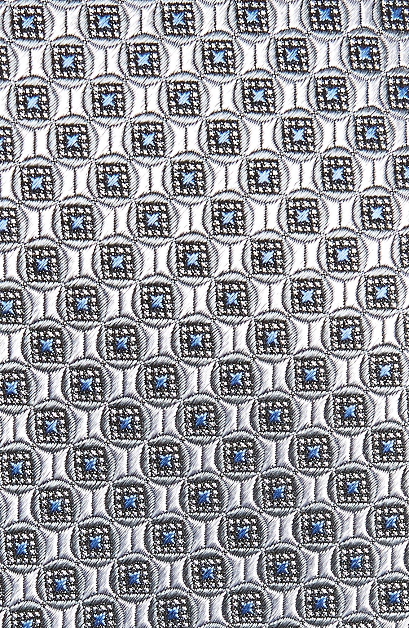 Geometric Silk Tie,                             Alternate thumbnail 2, color,                             040