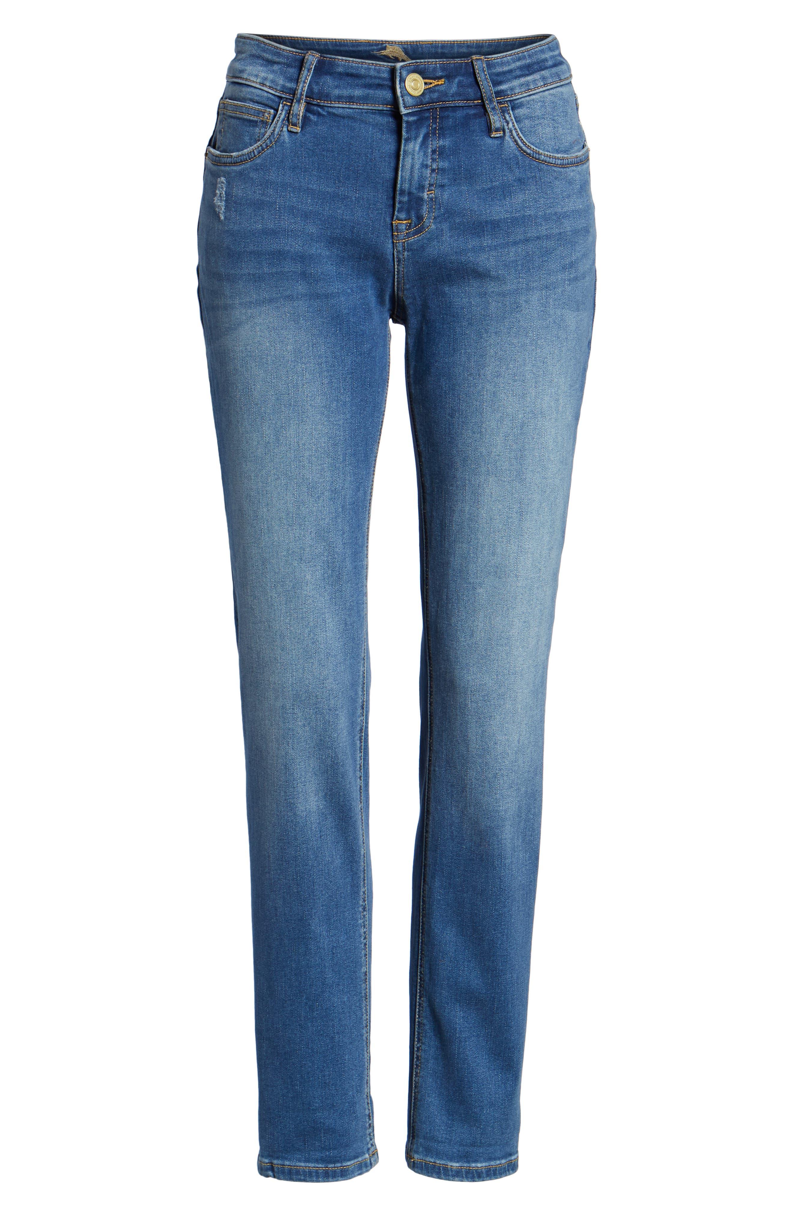 Tema Slim Boyfriend Jeans,                             Alternate thumbnail 17, color,