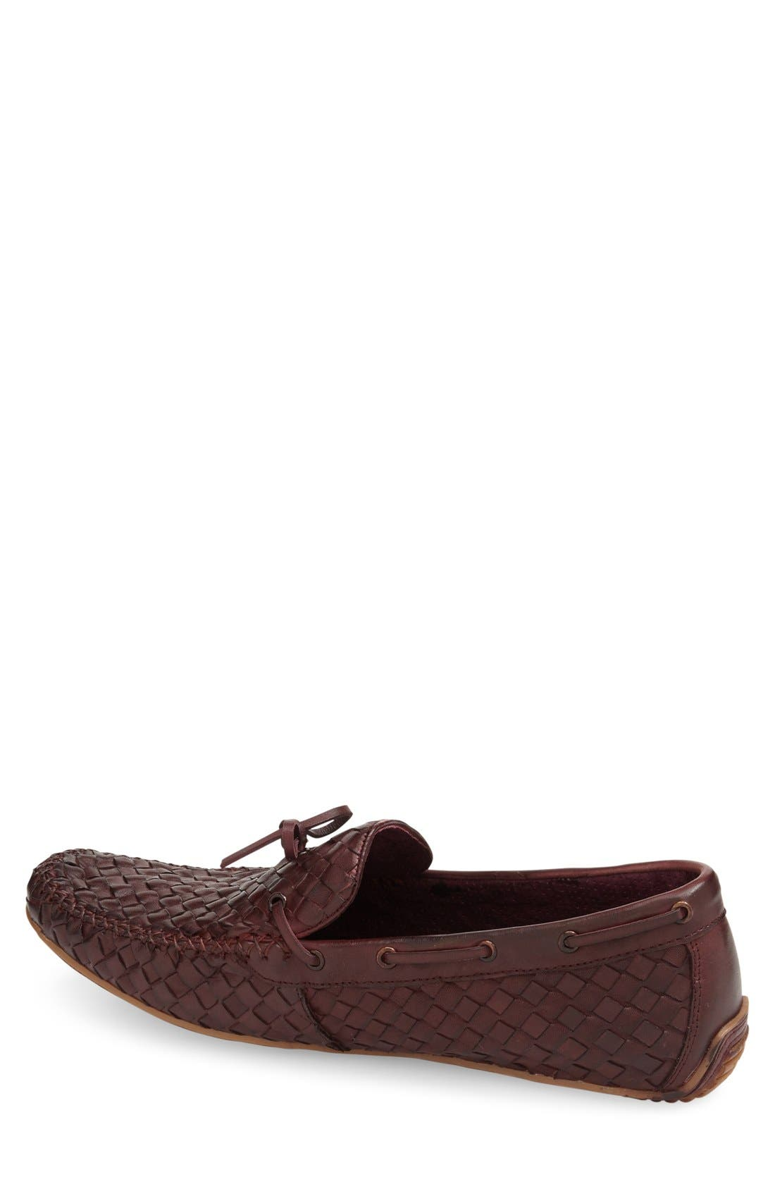 Leather Loafer,                             Alternate thumbnail 18, color,