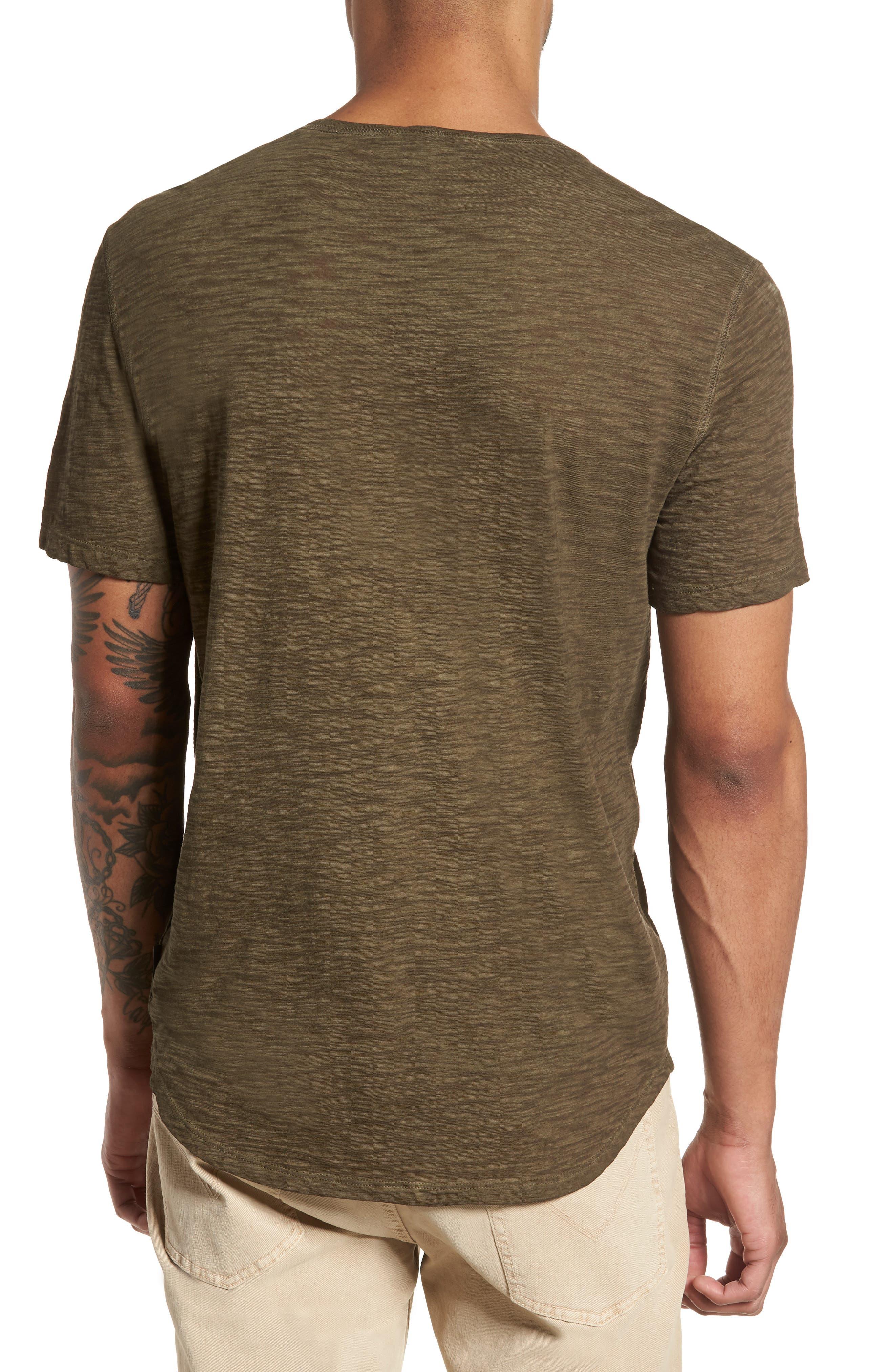 Slim Fit Slubbed T-Shirt,                             Alternate thumbnail 6, color,