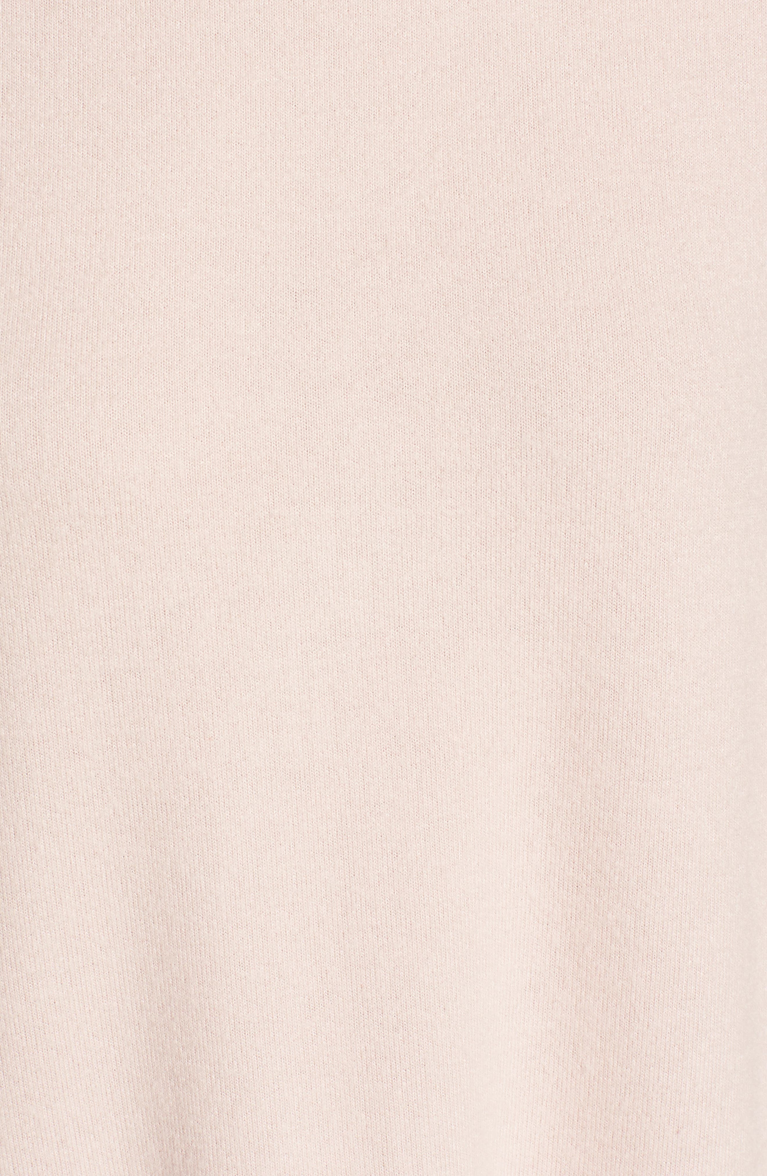 Cozy Ballet Neck High/Low Pullover,                             Alternate thumbnail 77, color,