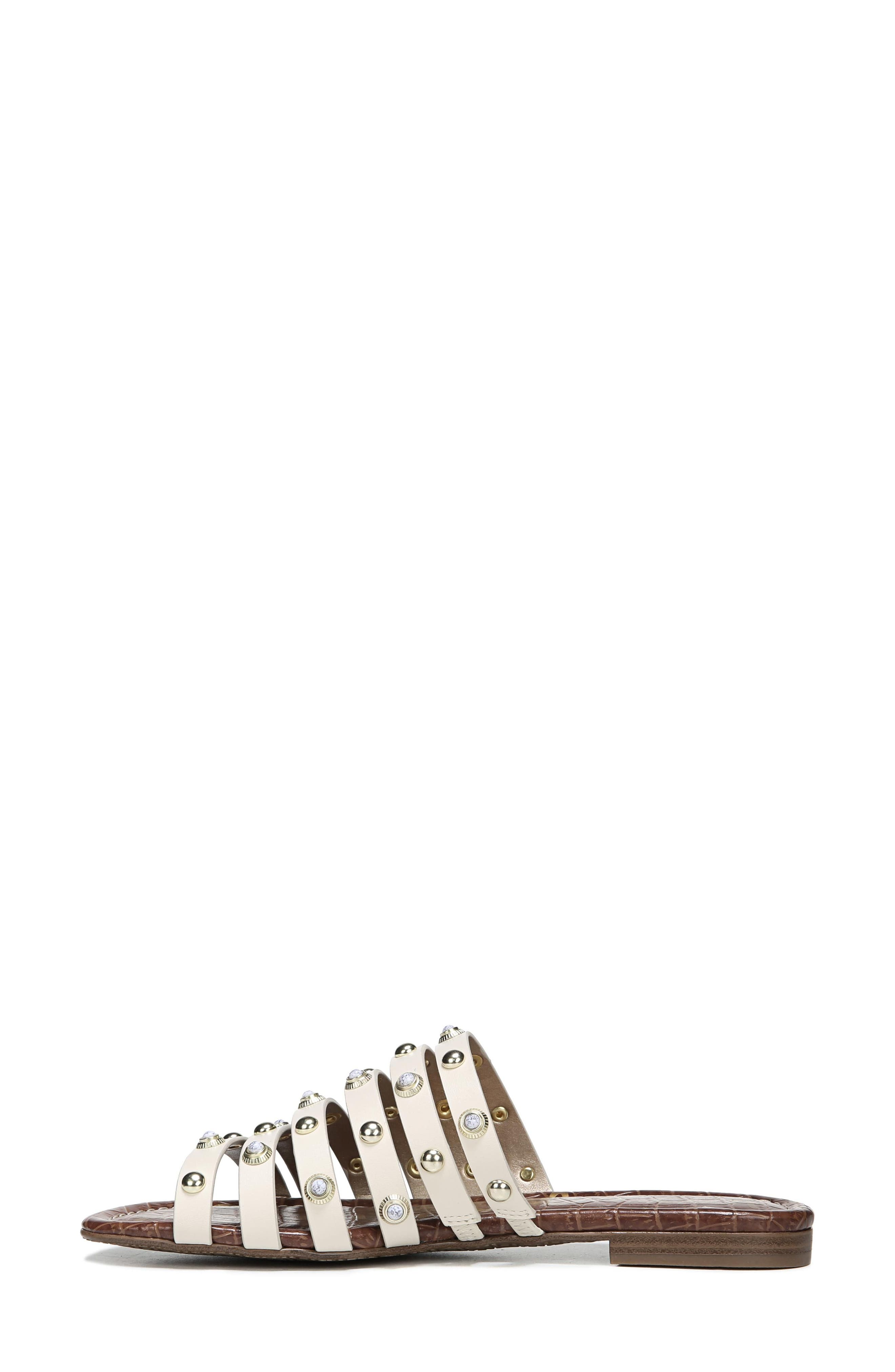 Brea Studded Slide Sandal,                             Alternate thumbnail 8, color,