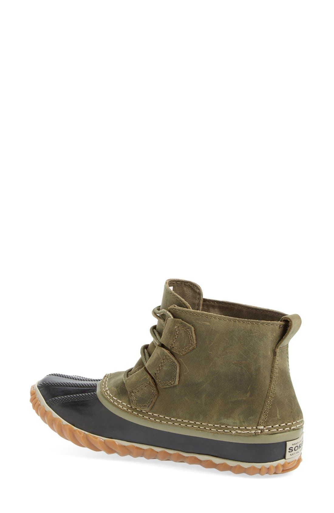 'Out N About' Leather Boot,                             Alternate thumbnail 18, color,