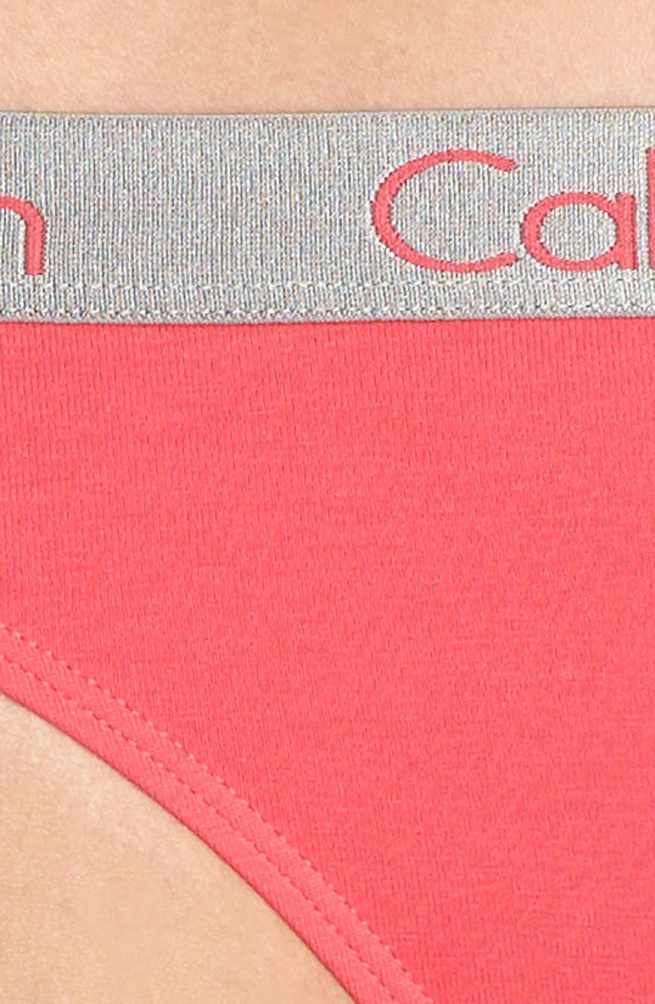 'Radiant' Cotton Thong,                             Alternate thumbnail 95, color,
