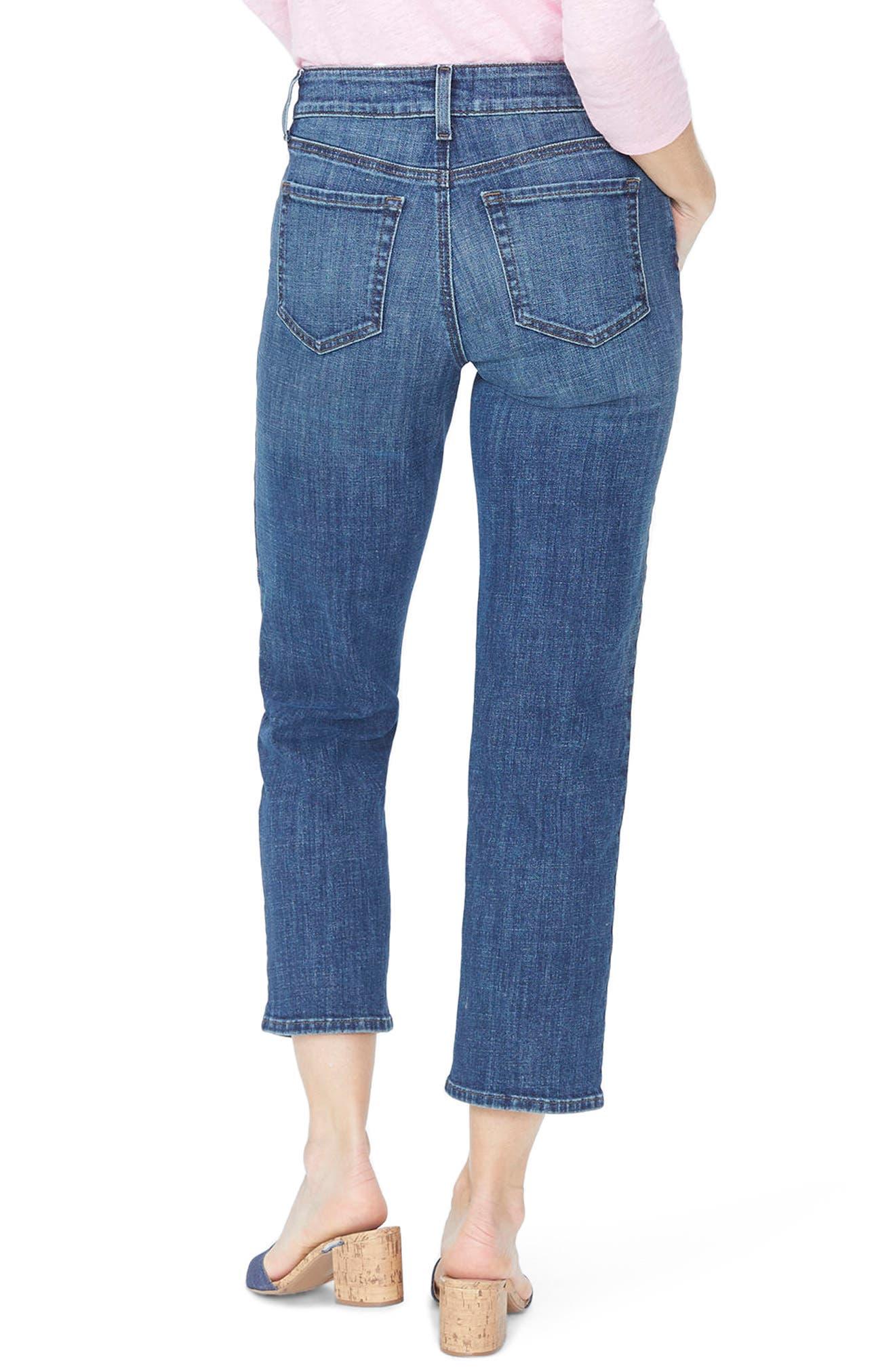 Jenna Straight Leg Ankle Jeans,                             Alternate thumbnail 2, color,                             420