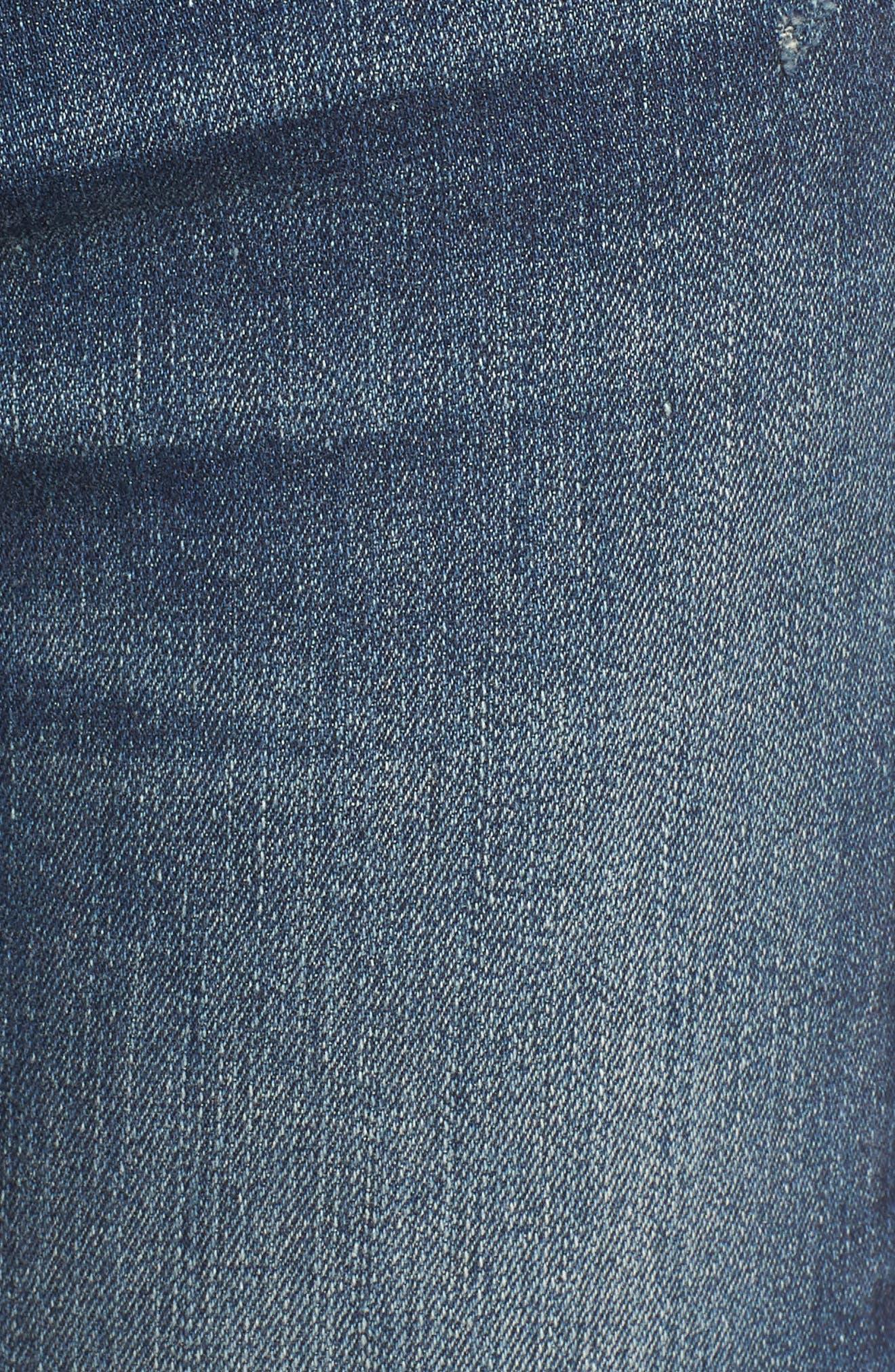 Newton High Rise Skinny Jeans,                             Alternate thumbnail 6, color,                             420