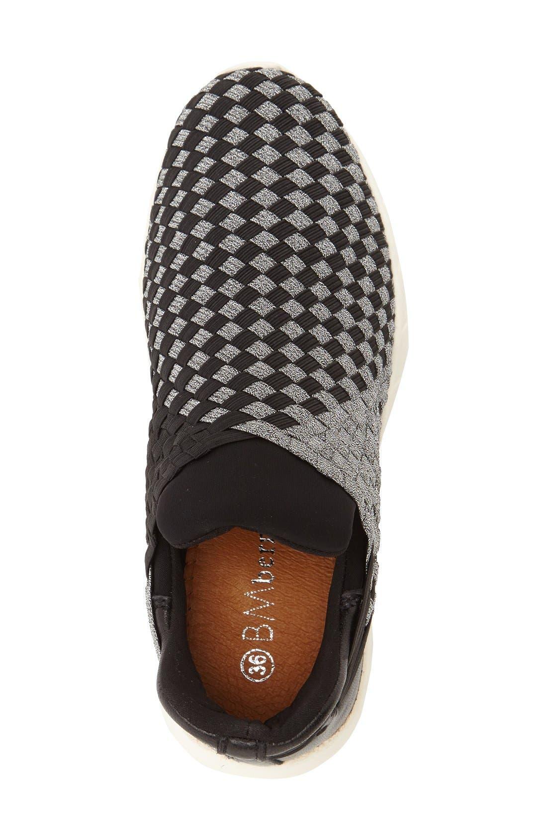 'Razer' Woven Slip-On Sneaker,                             Alternate thumbnail 3, color,                             014