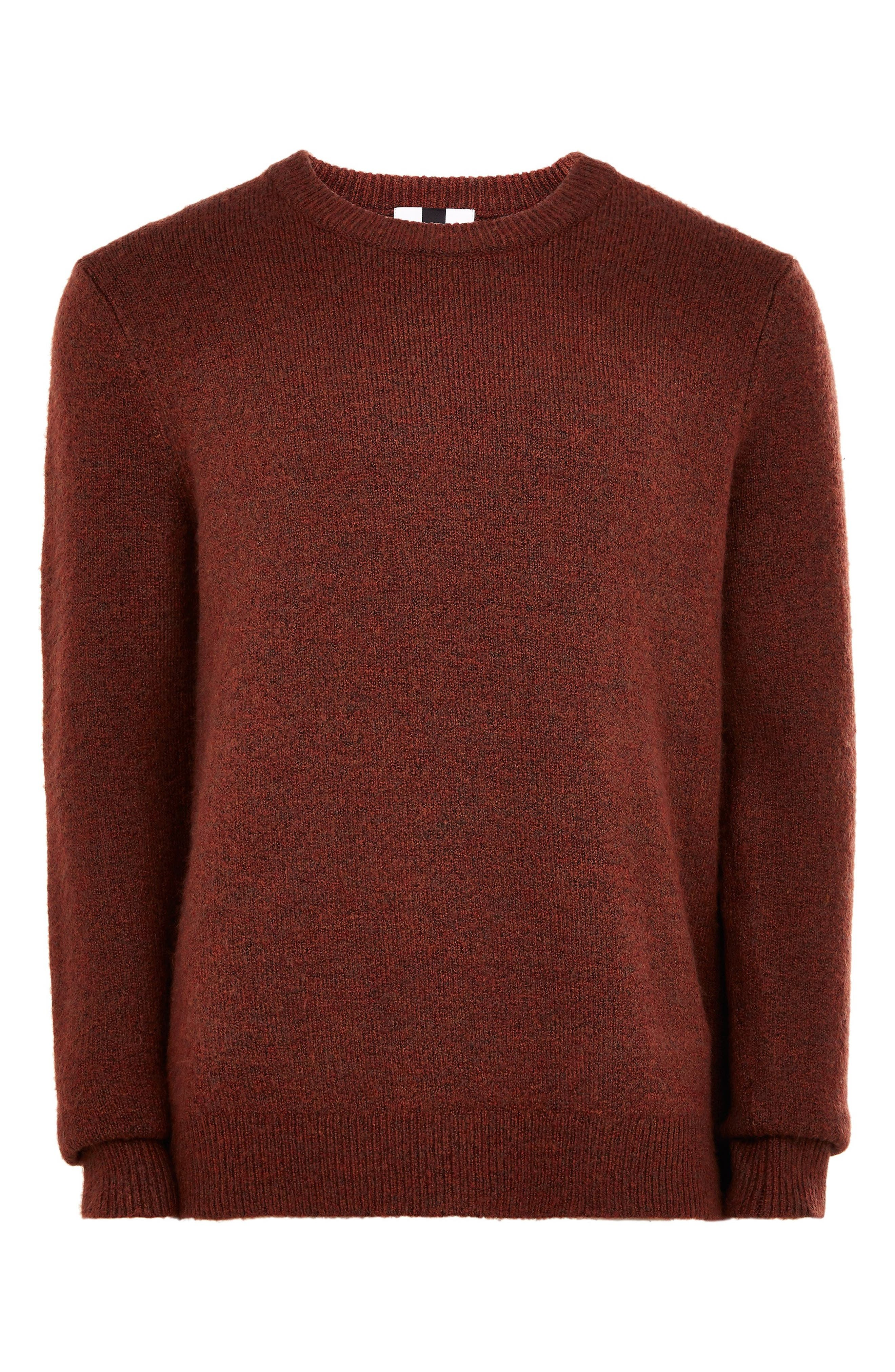 TOPMAN,                             Harlow Classic Fit Sweater,                             Alternate thumbnail 4, color,                             200