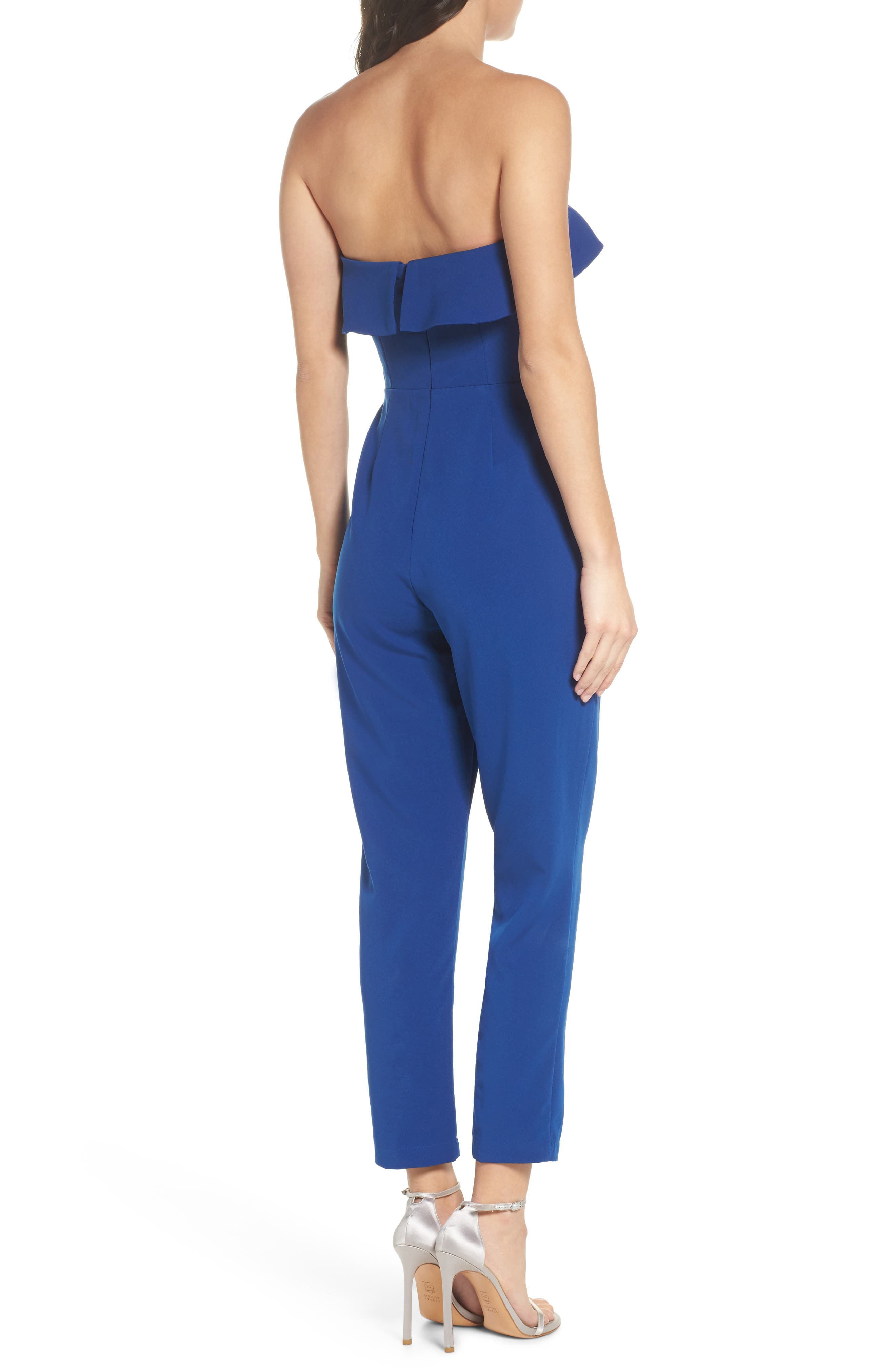 Penny Strapless Jumpsuit,                             Alternate thumbnail 2, color,                             400