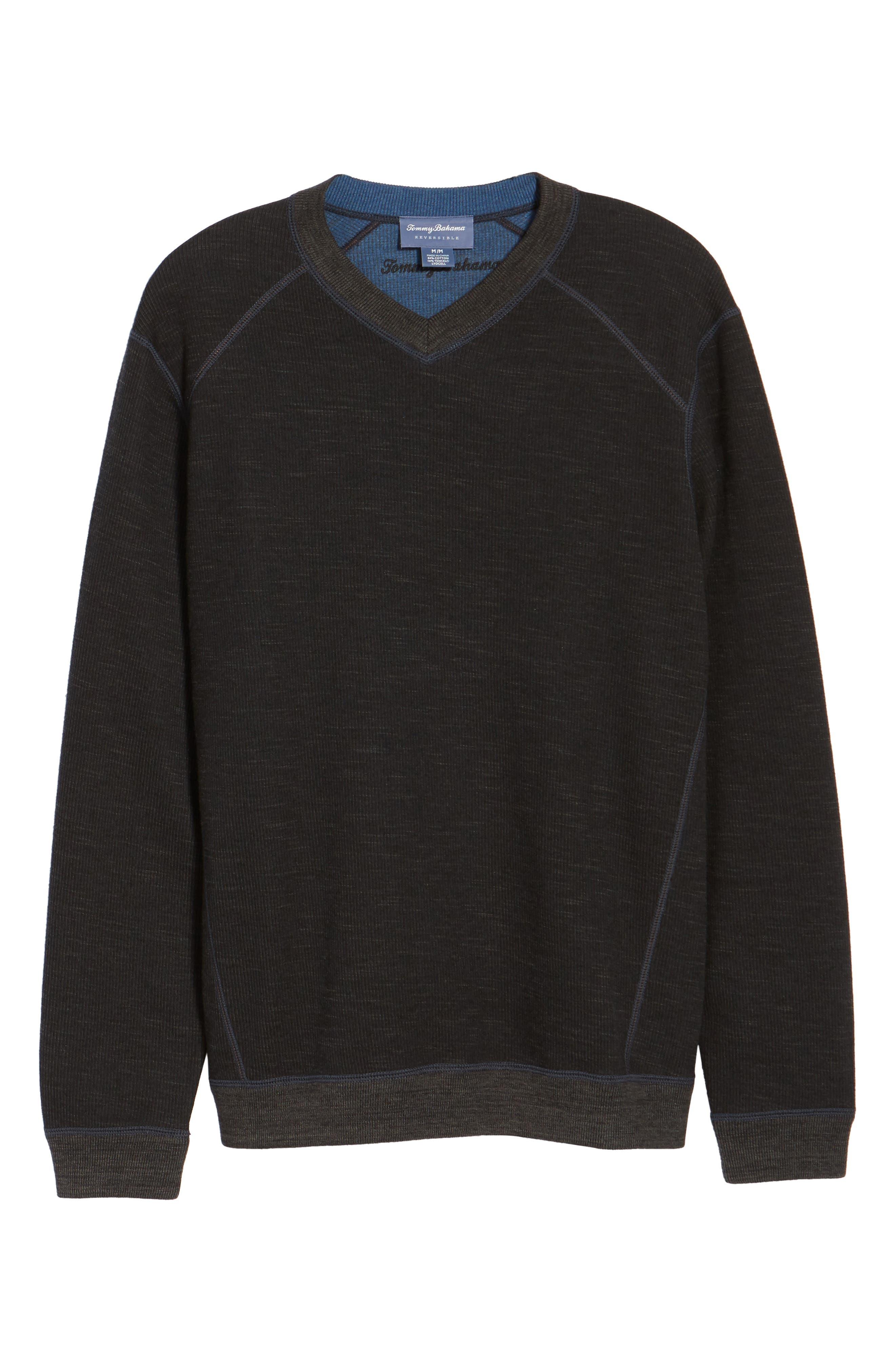 Flipside Pro Reversible Sweatshirt,                             Alternate thumbnail 6, color,                             001