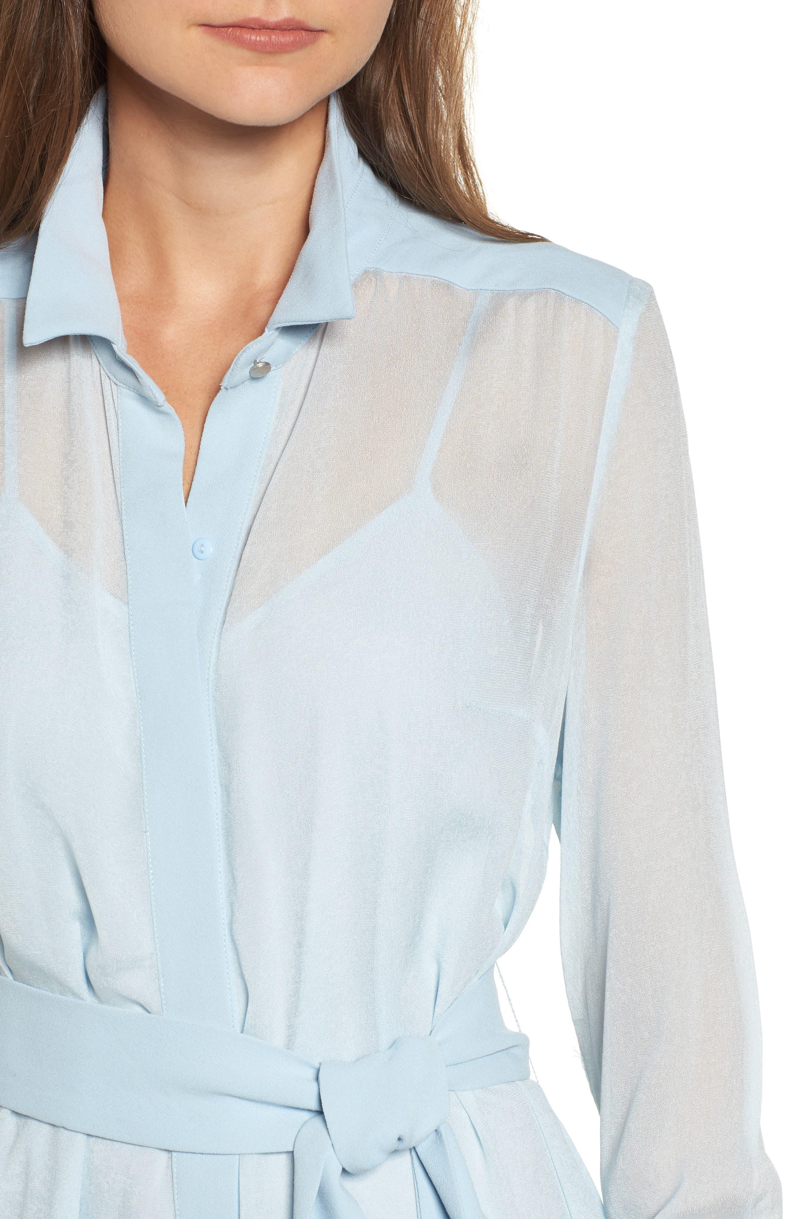 Liberty Shirtdress,                             Alternate thumbnail 4, color,                             450