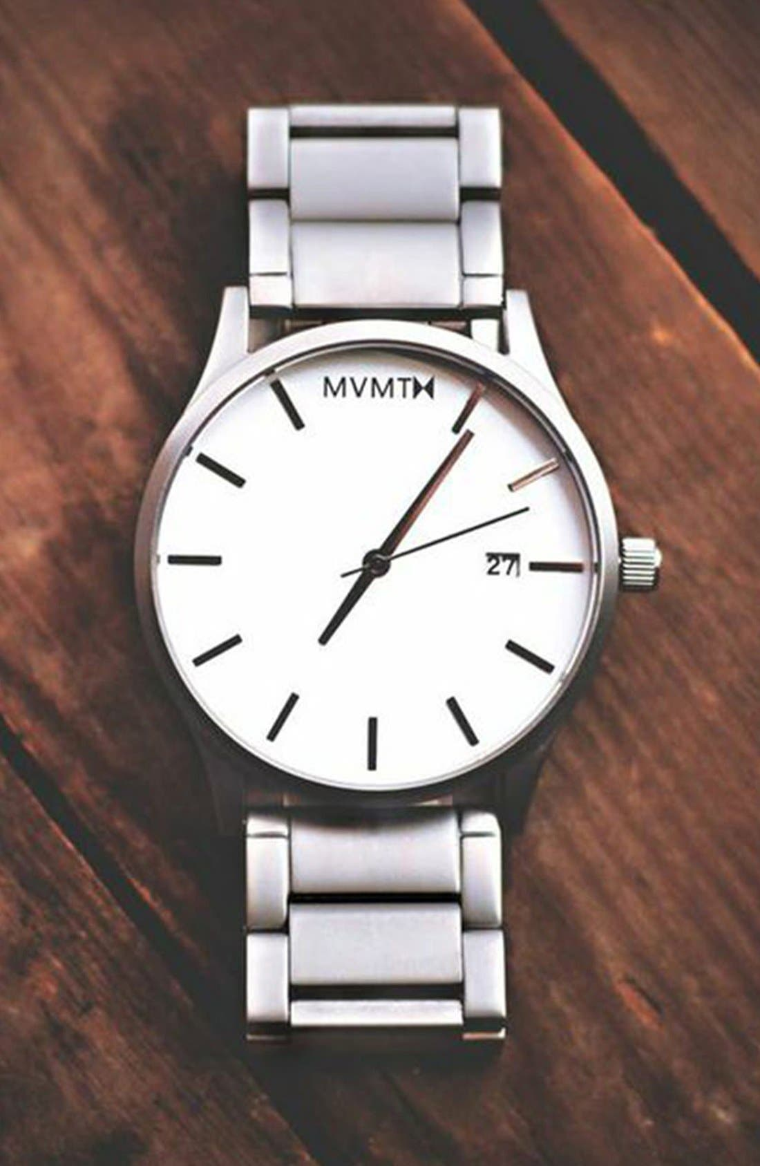 Bracelet Watch, 45mm,                             Alternate thumbnail 4, color,                             040