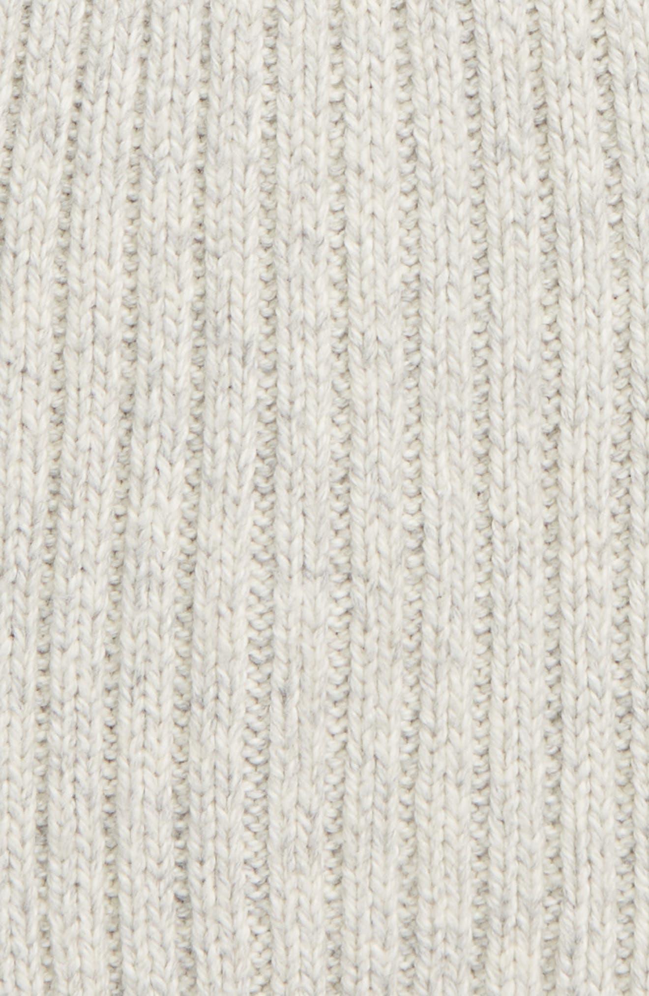 Perfect Textured Rib Beanie,                             Alternate thumbnail 2, color,                             ARCTIC ICE