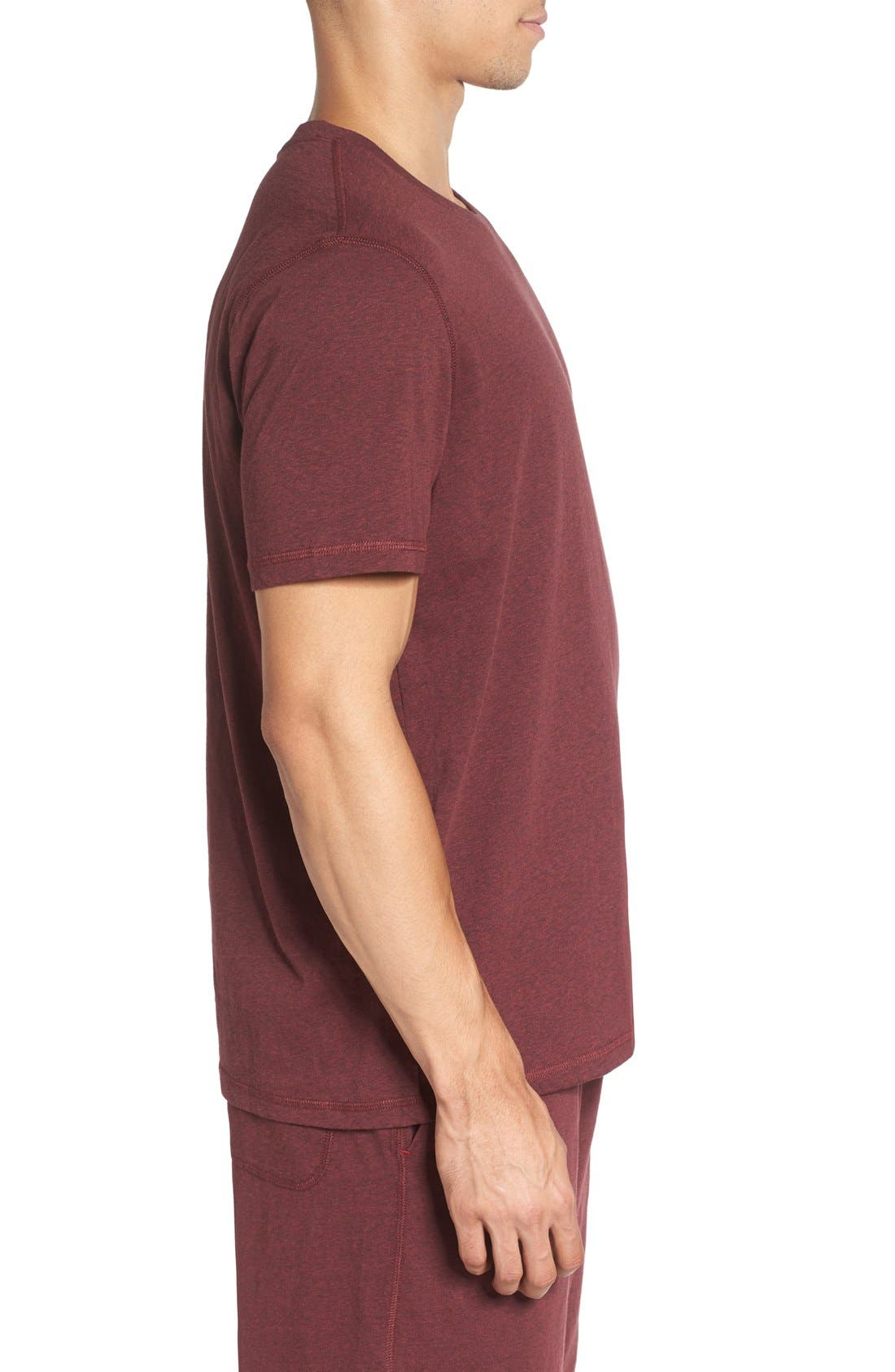 Recycled Cotton Blend T-Shirt,                             Alternate thumbnail 9, color,