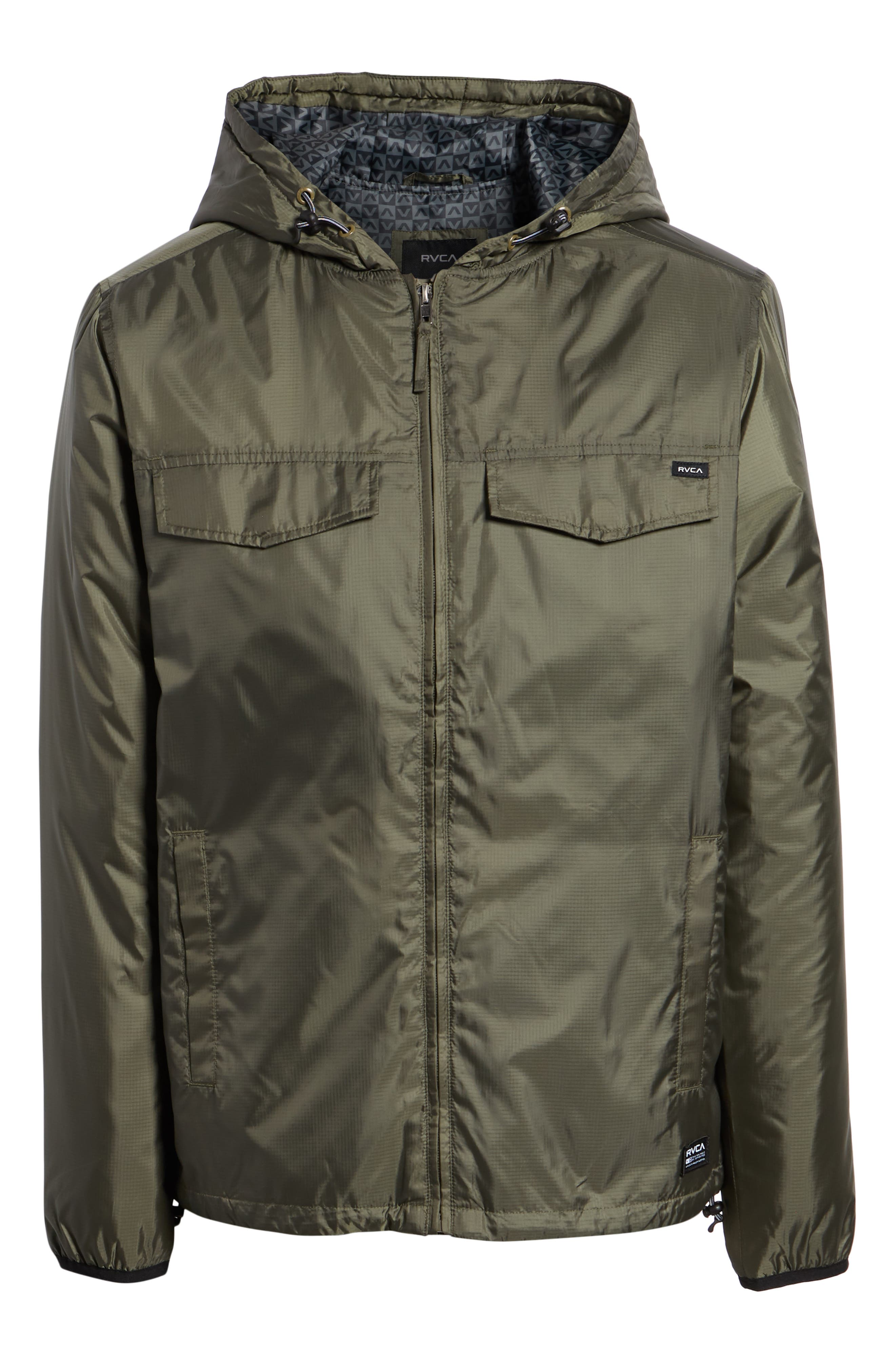Tracer Jacket,                             Alternate thumbnail 6, color,                             OLIVE